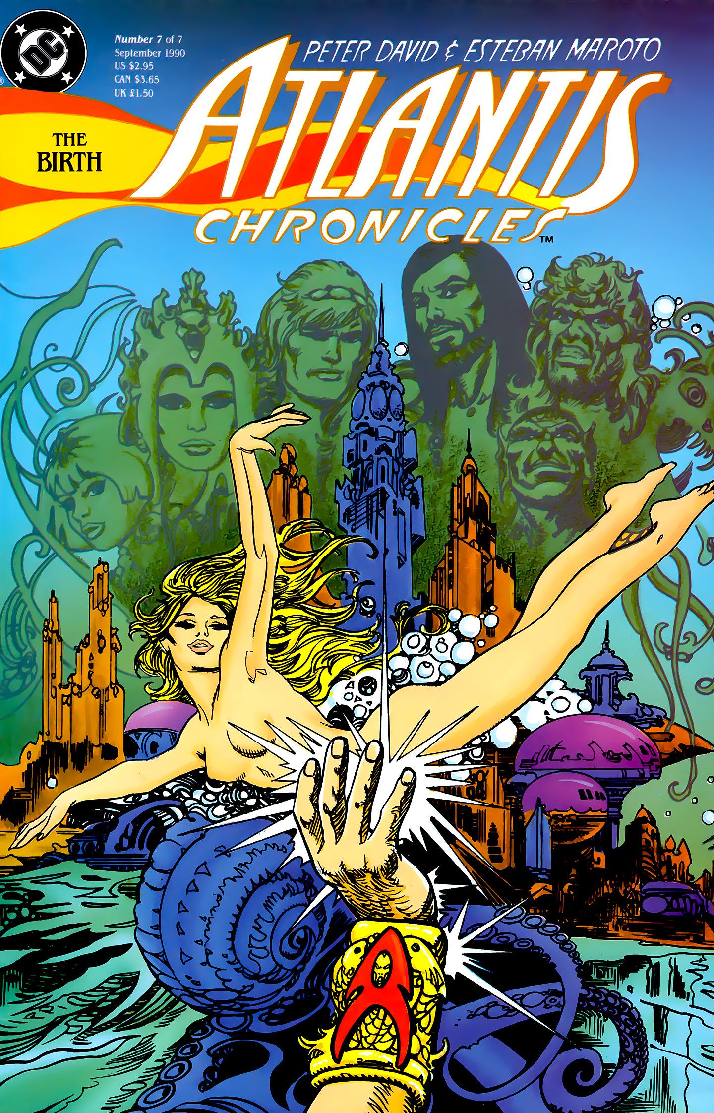Read online Atlantis Chronicles comic -  Issue #7 - 1