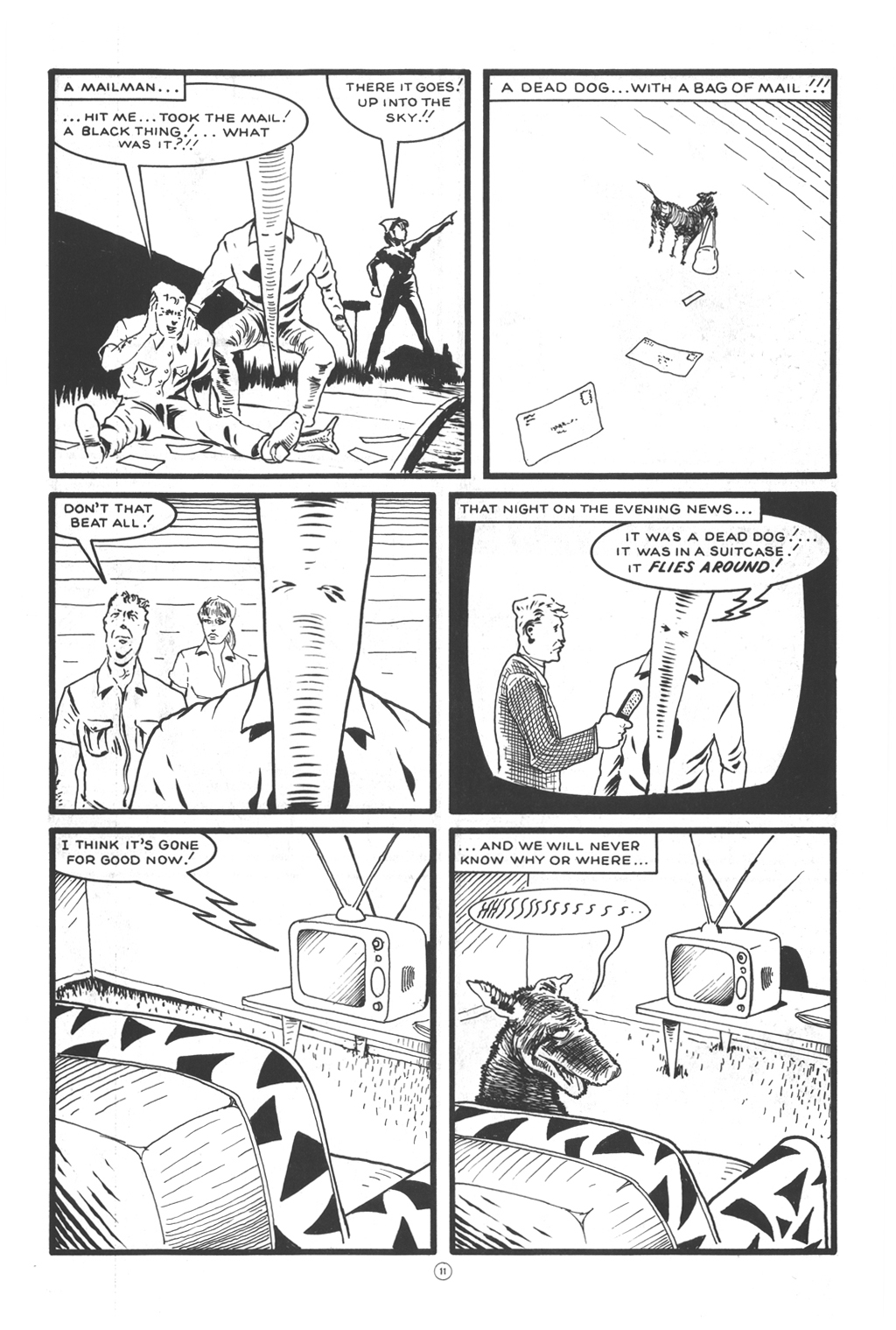 Read online Flaming Carrot Comics (1984) comic -  Issue #12 - 13