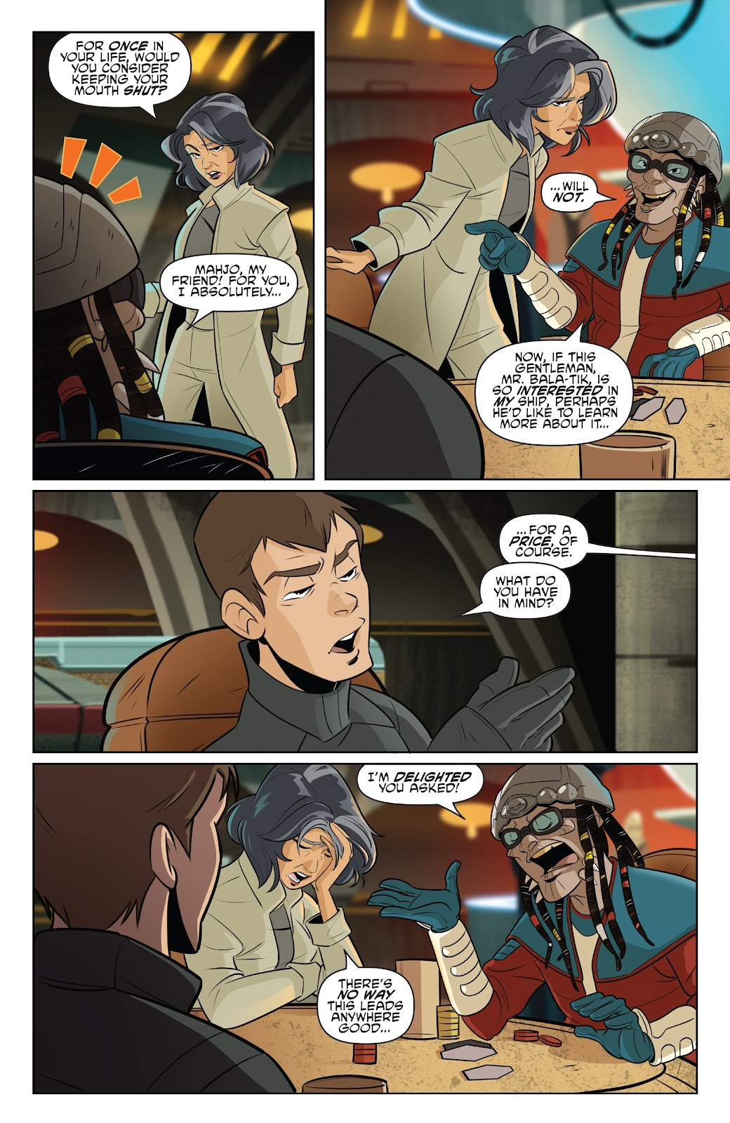 Read online Star Wars Adventures: Flight of the Falcon comic -  Issue # Full - 5