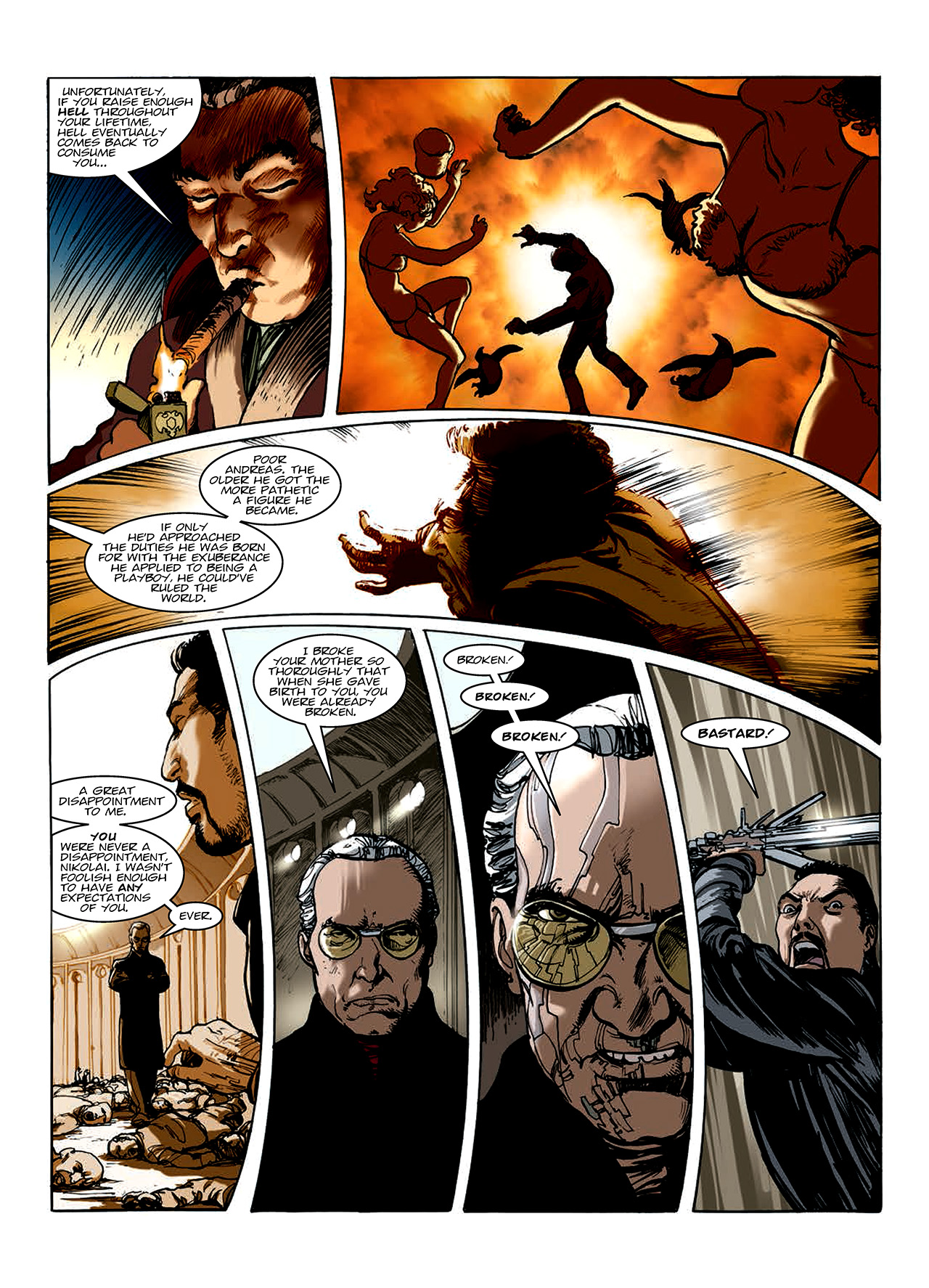 Read online Nikolai Dante comic -  Issue # TPB 10 - 121
