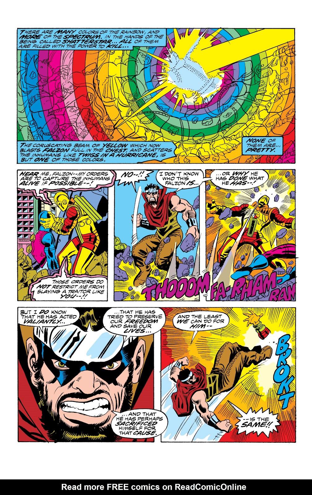 Read online Marvel Masterworks: The Inhumans comic -  Issue # TPB 2 (Part 1) - 60