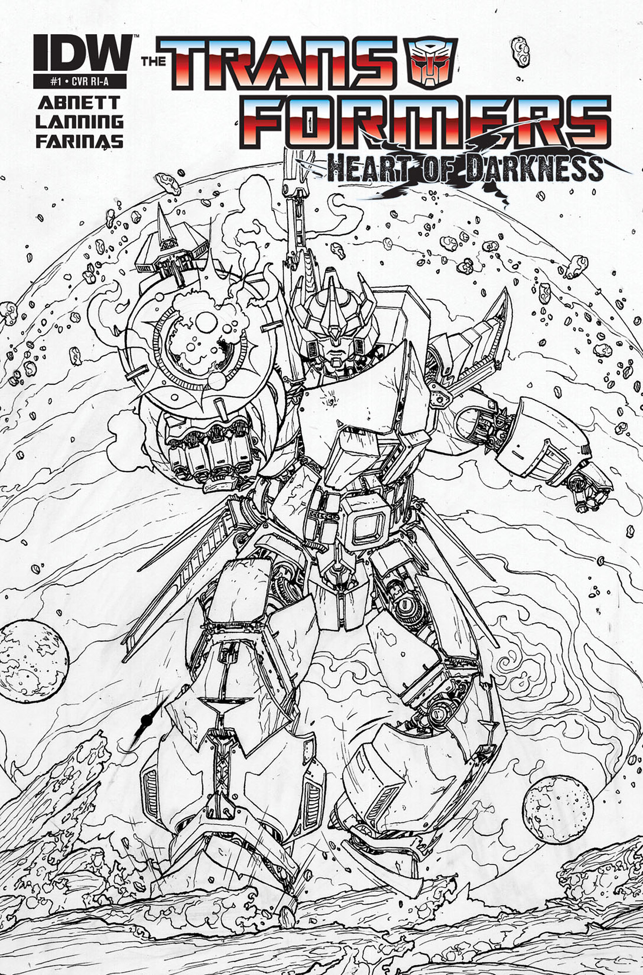 Read online Transformers: Heart of Darkness comic -  Issue #1 - 3