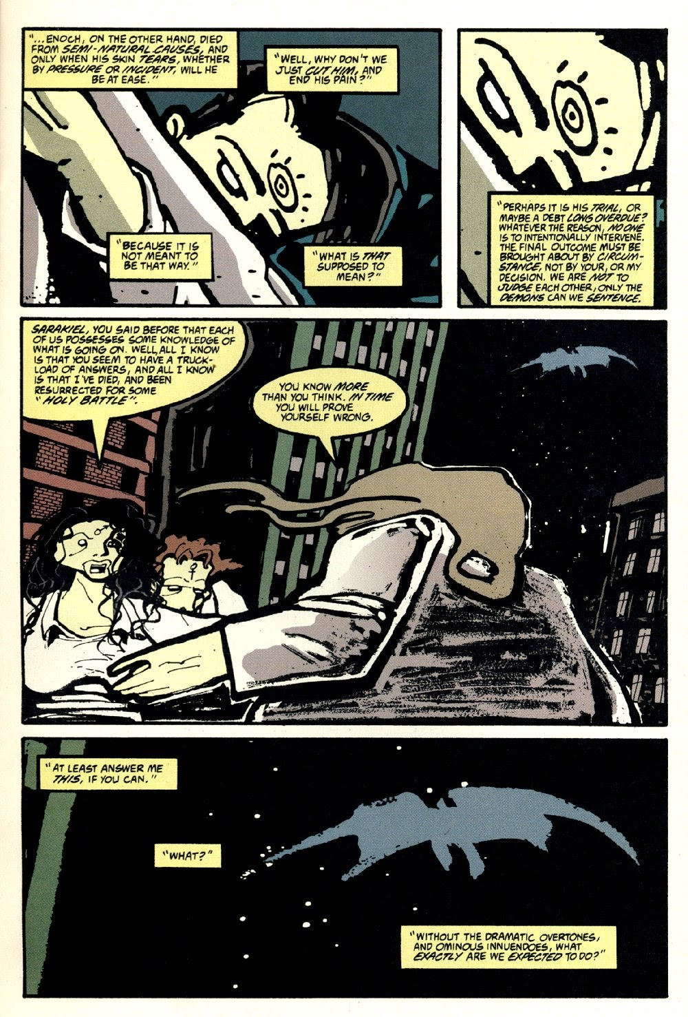 Read online Ted McKeever's Metropol comic -  Issue #8 - 9