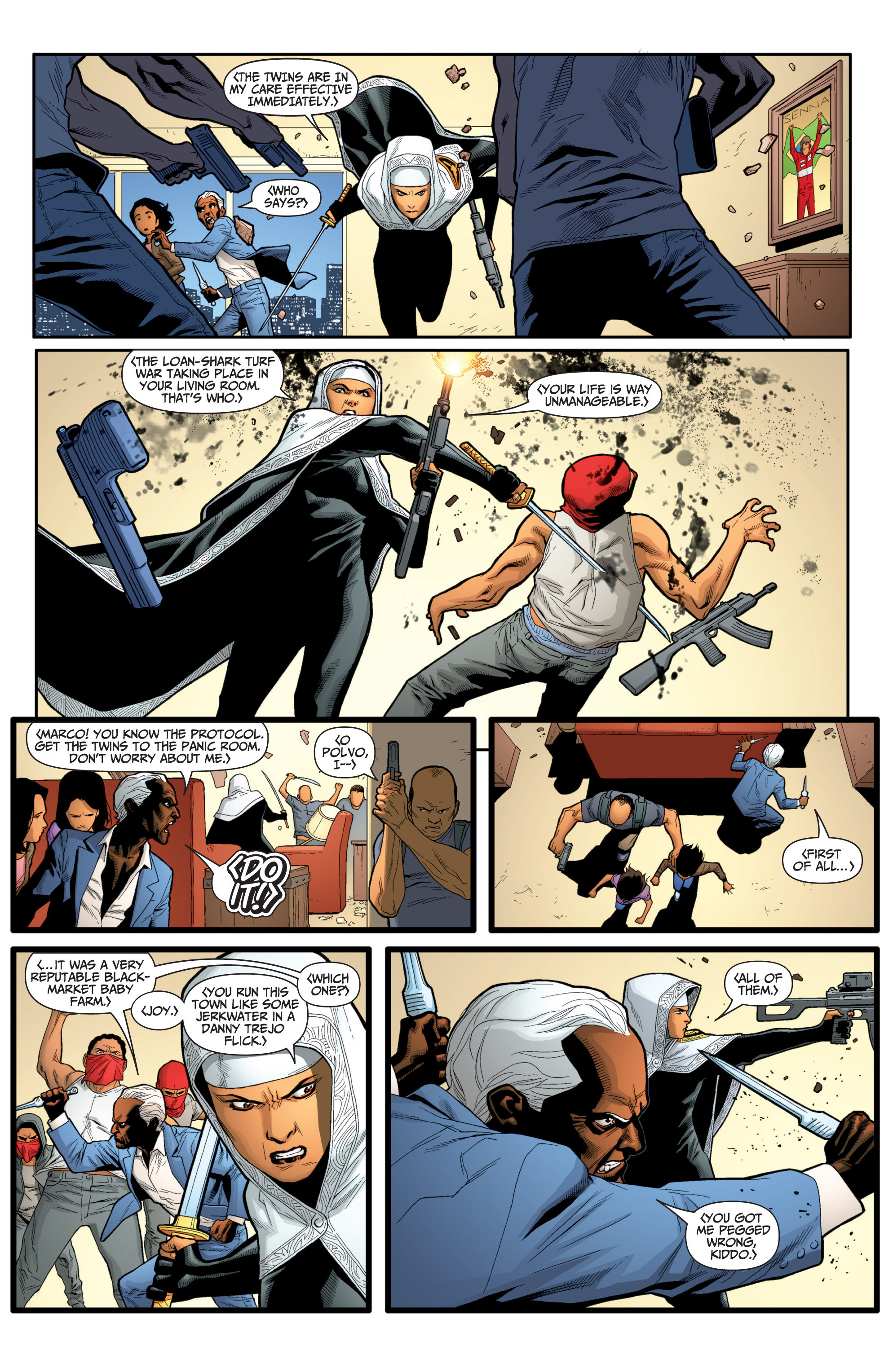 Read online Archer and Armstrong comic -  Issue #Archer and Armstrong _TPB 7 - 25