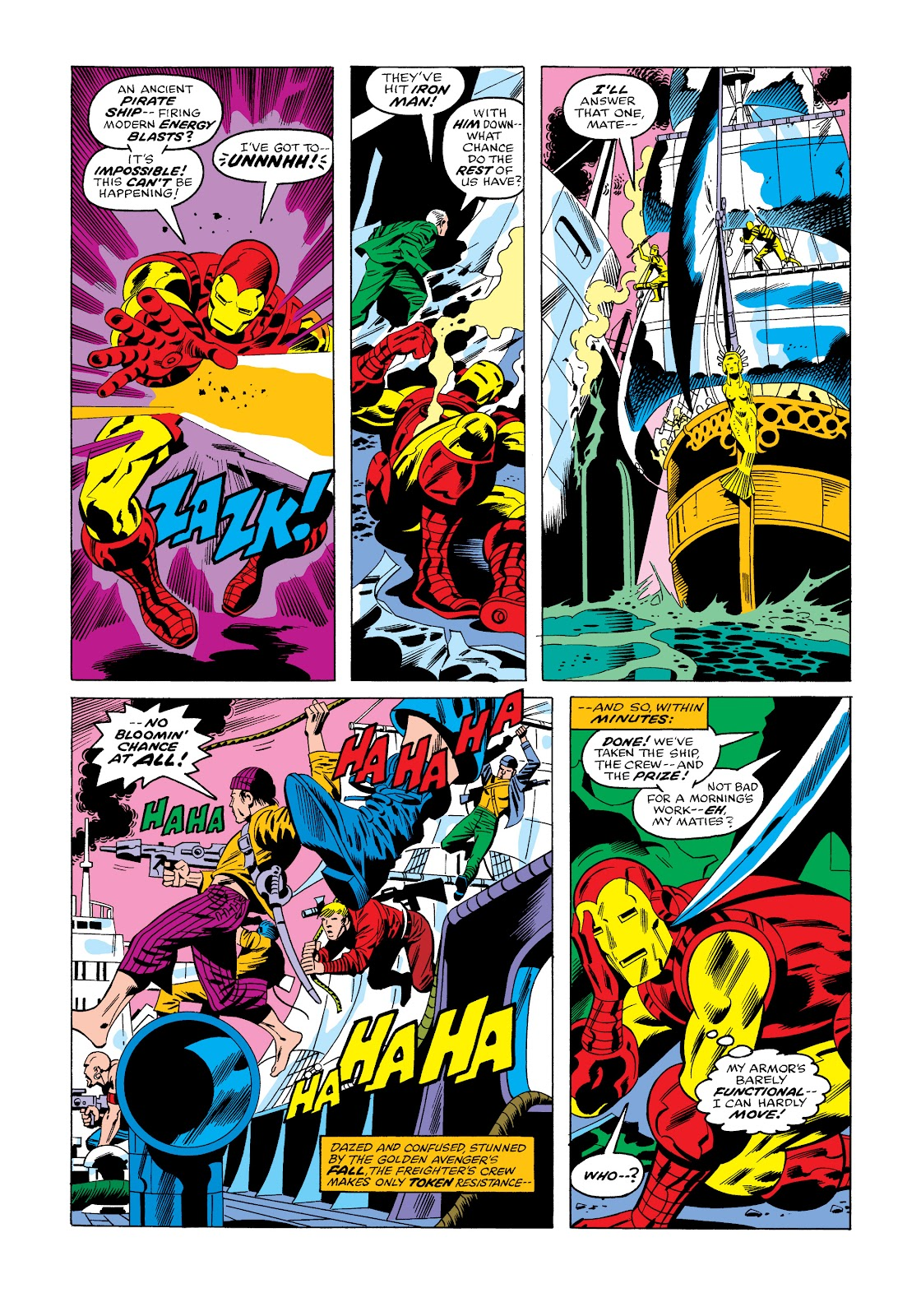 Read online Marvel Masterworks: The Invincible Iron Man comic -  Issue # TPB 11 (Part 3) - 56