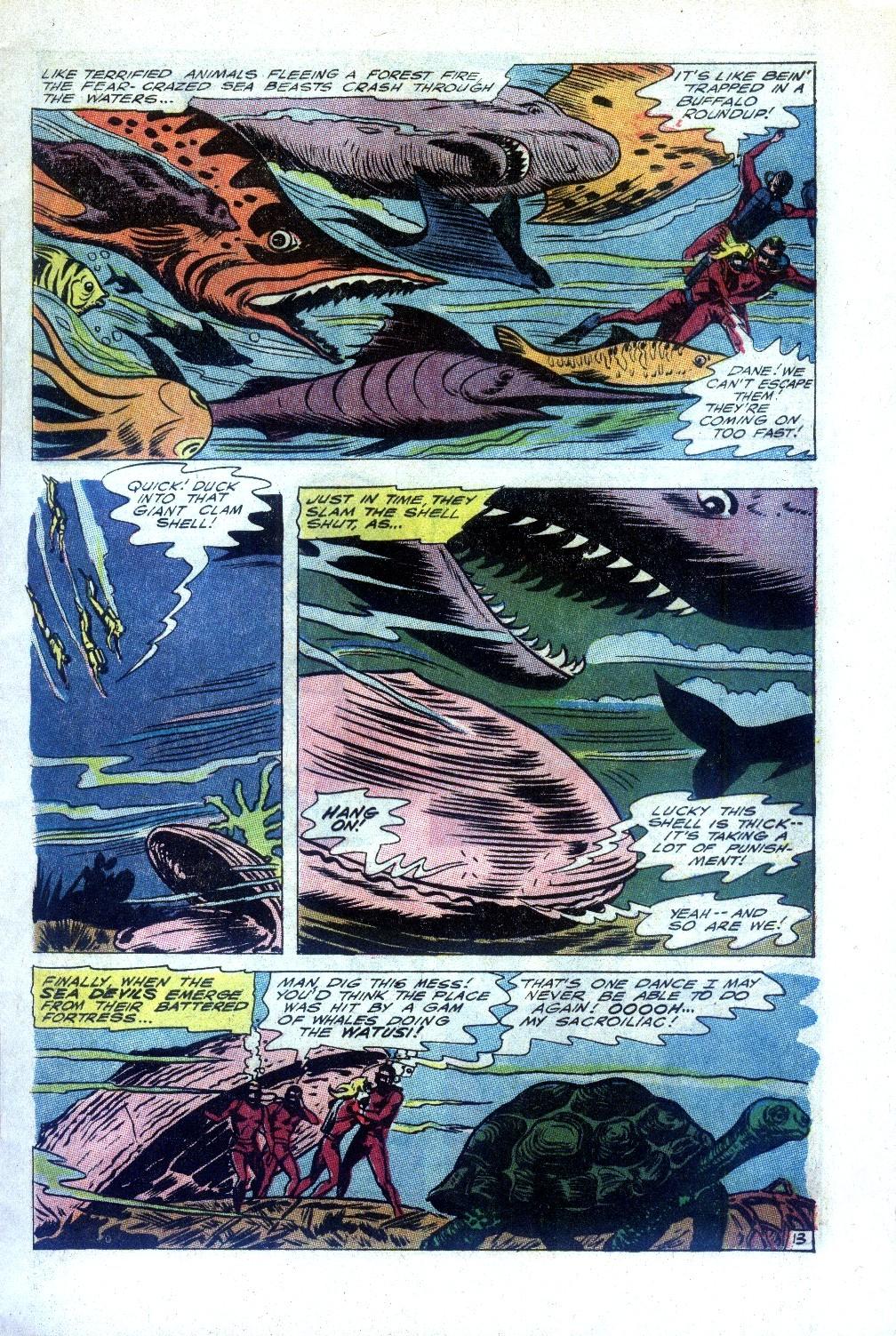 Read online Sea Devils comic -  Issue #27 - 18