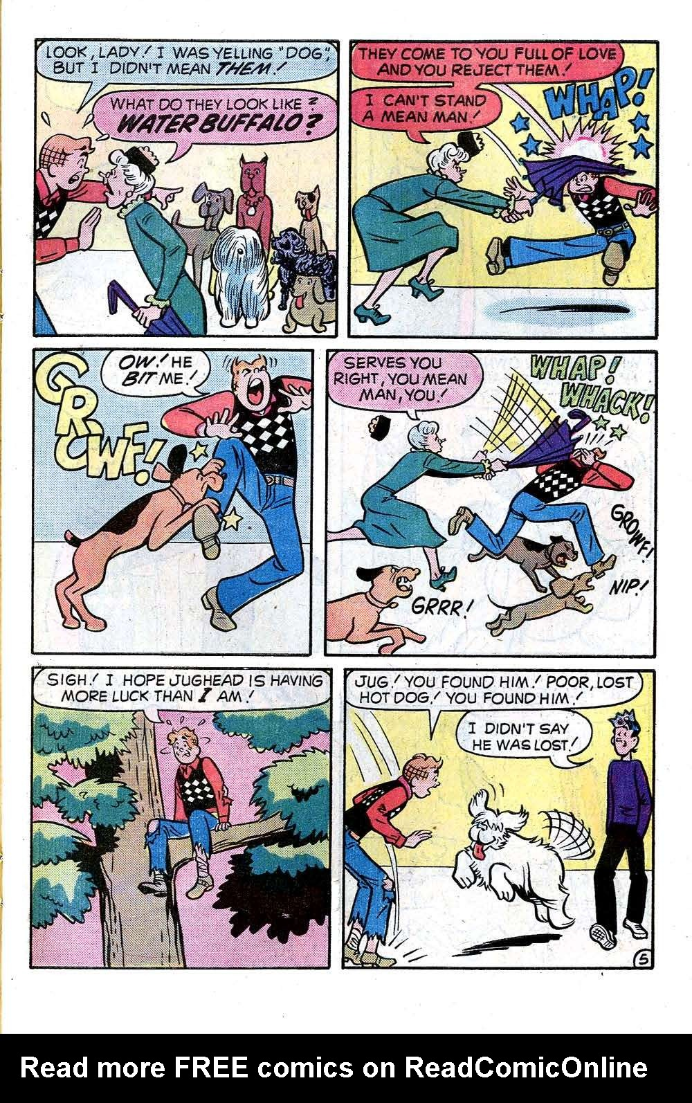 Read online Archie (1960) comic -  Issue #246 - 7