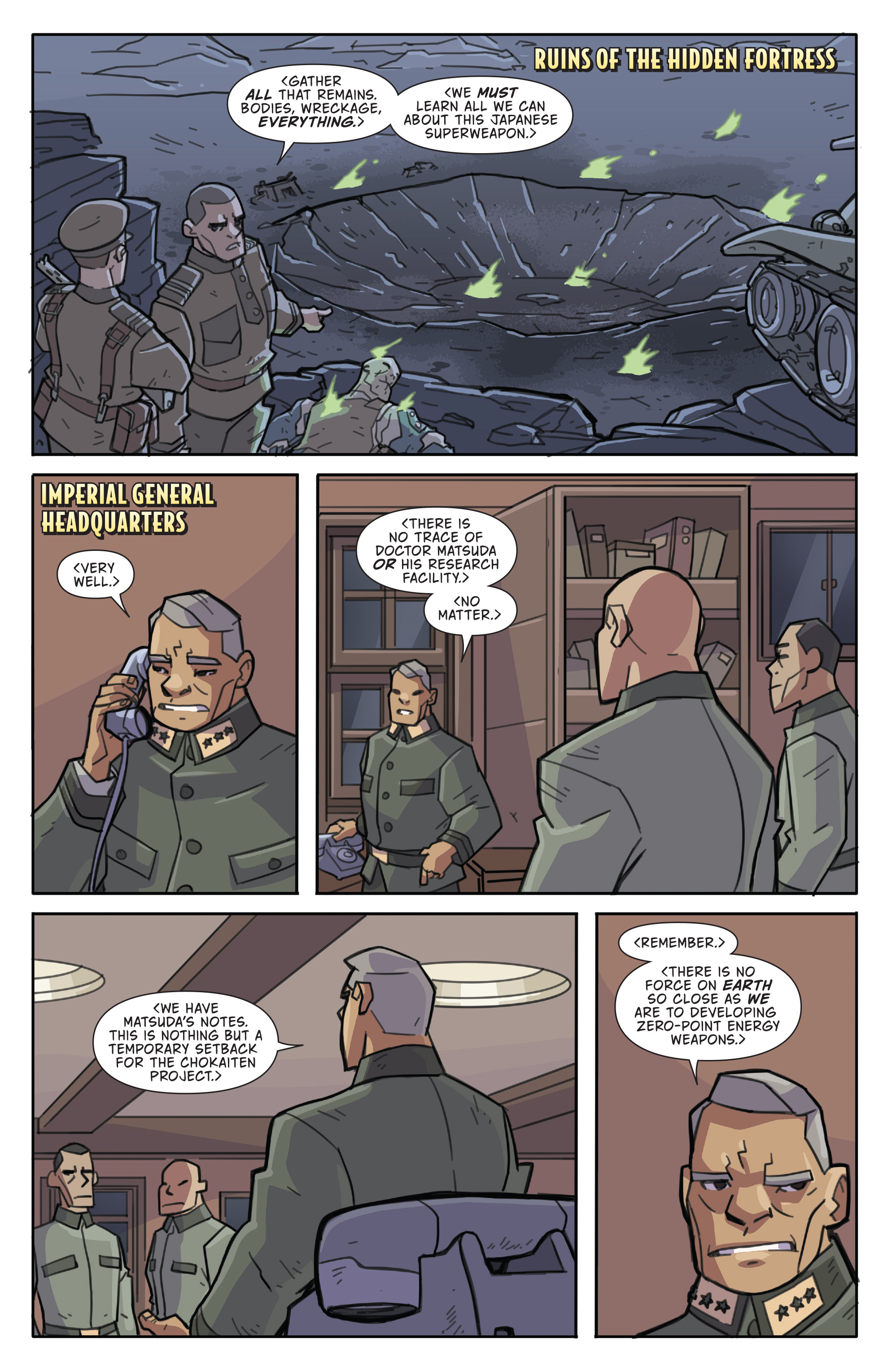 Read online Atomic Robo and the Temple of Od comic -  Issue #5 - 23