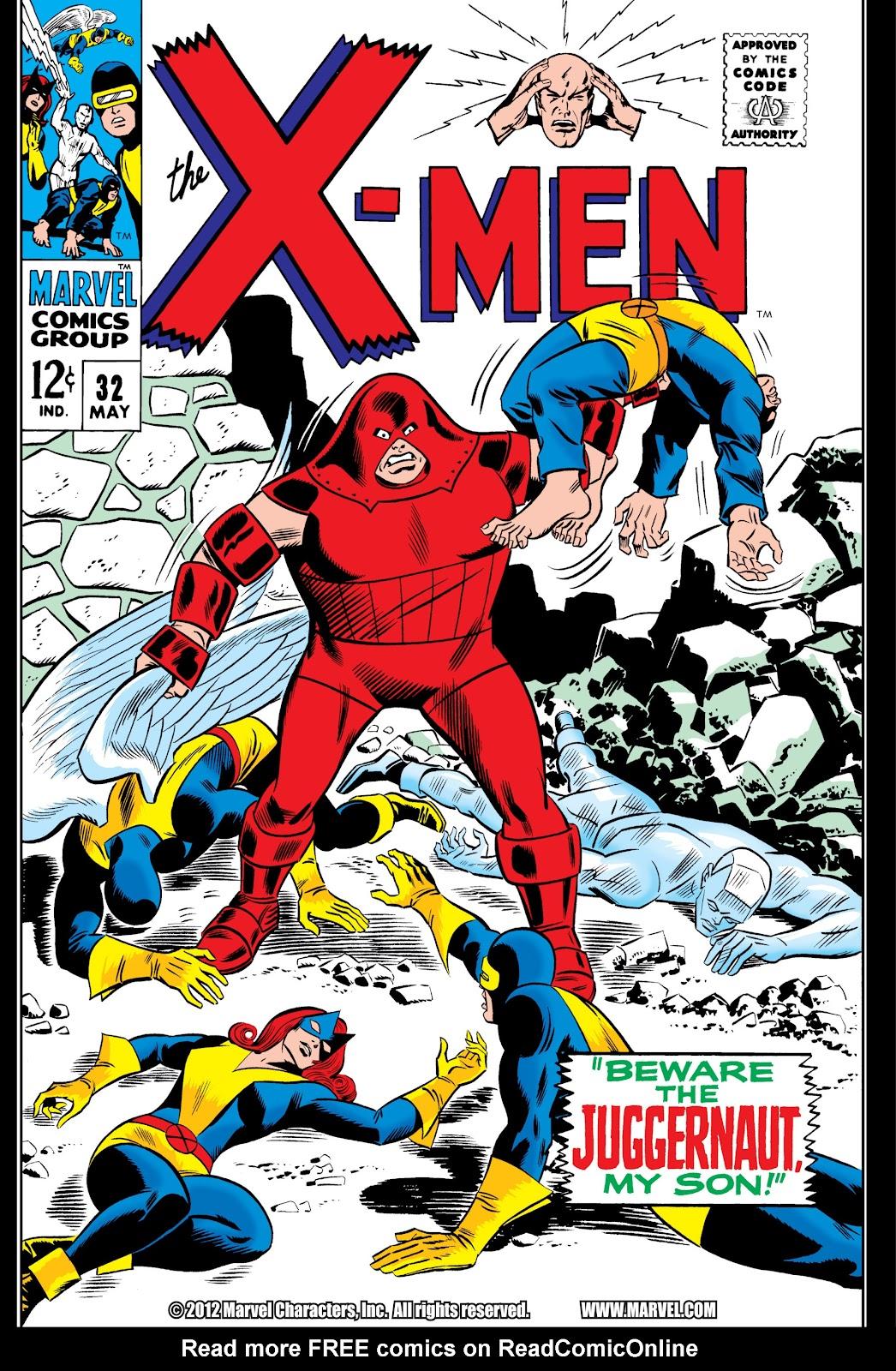 Uncanny X-Men (1963) 32 Page 1