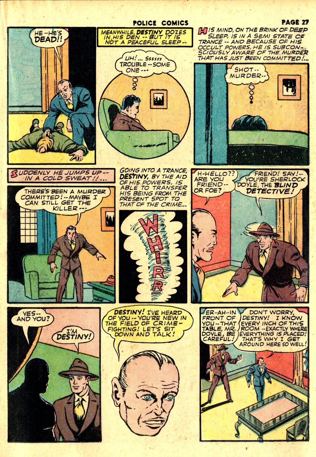 Police Comics issue 19 - Page 29