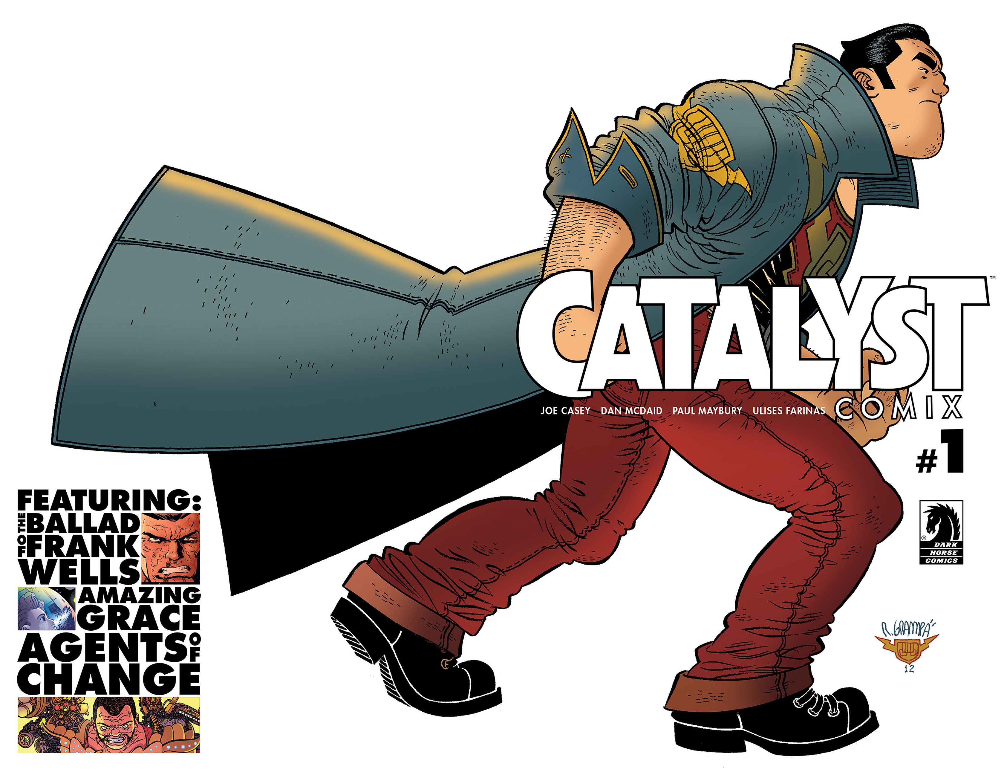 Read online Catalyst Comix comic -  Issue #1 - 1