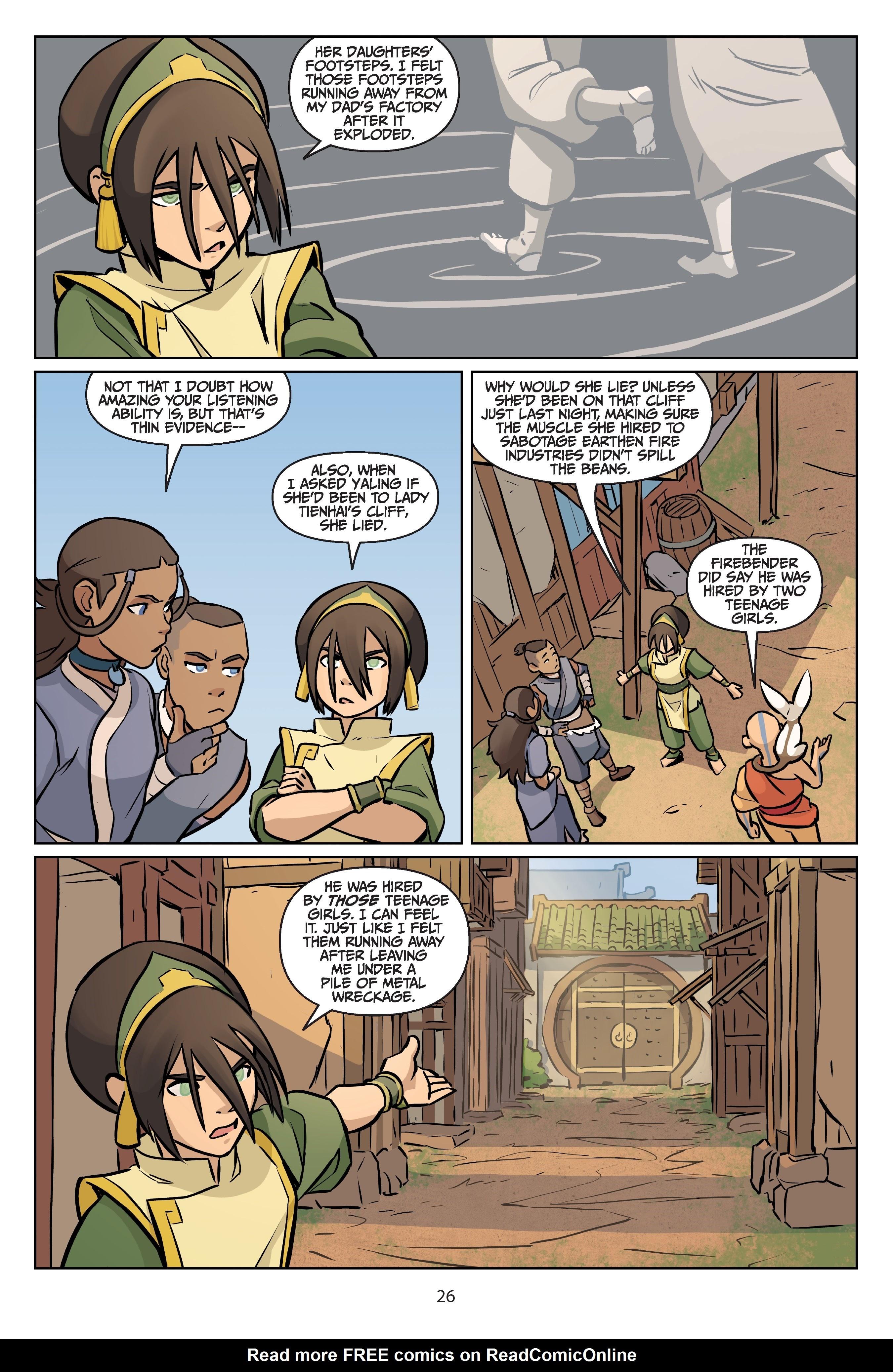 Nickelodeon Avatar: The Last Airbender - Imbalance TPB_2 Page 26