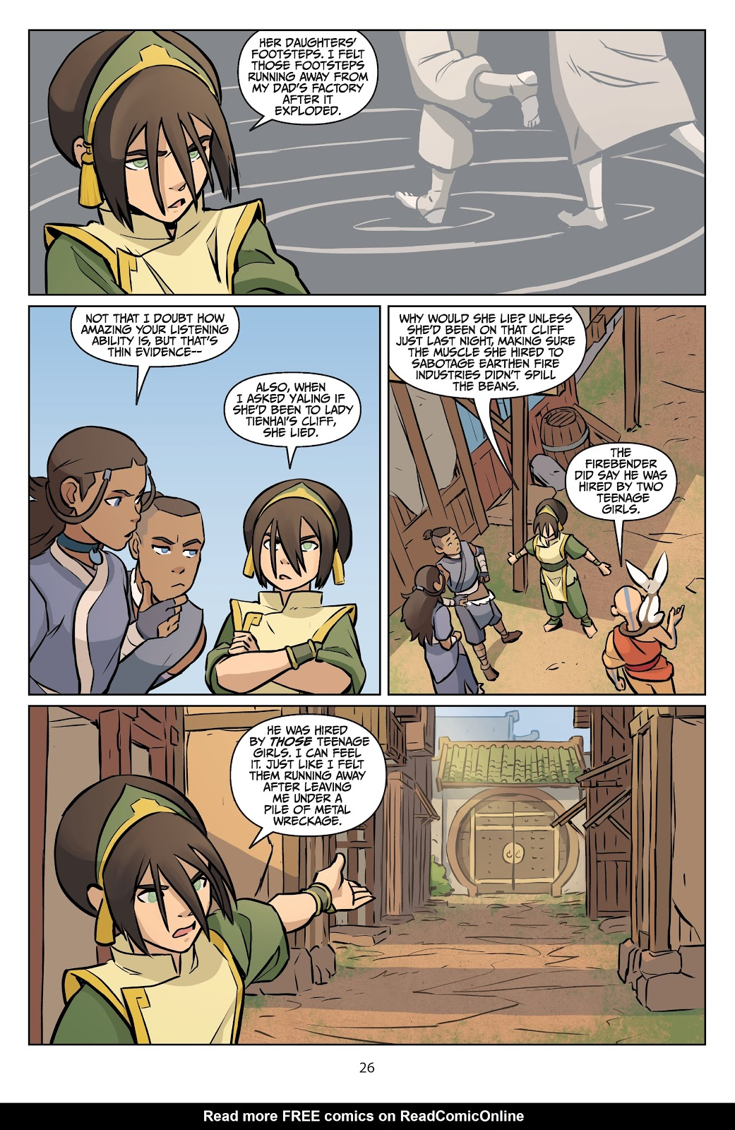 Read online Nickelodeon Avatar: The Last Airbender - Imbalance comic -  Issue # TPB 2 - 27