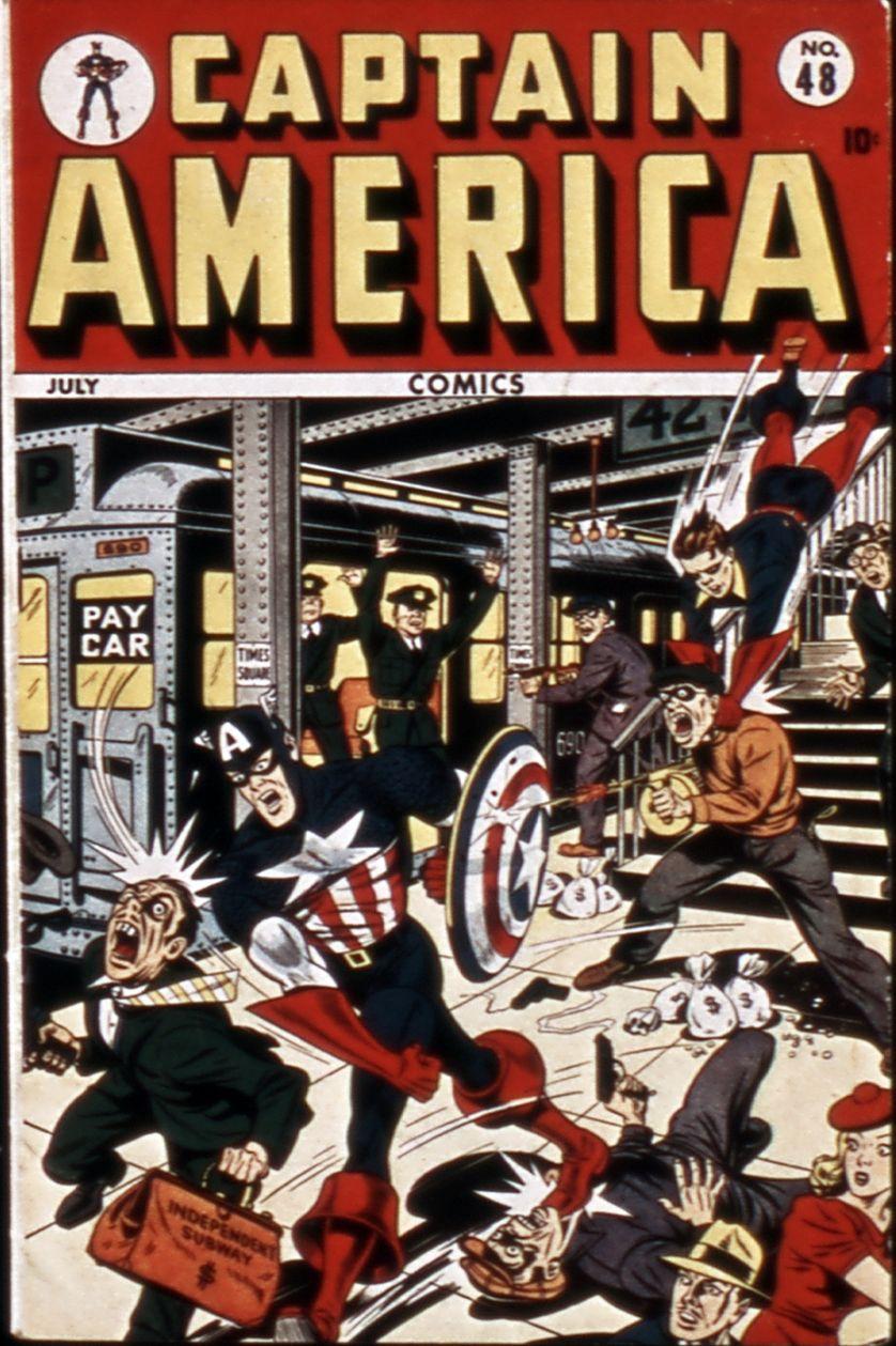 Captain America Comics 48 Page 1