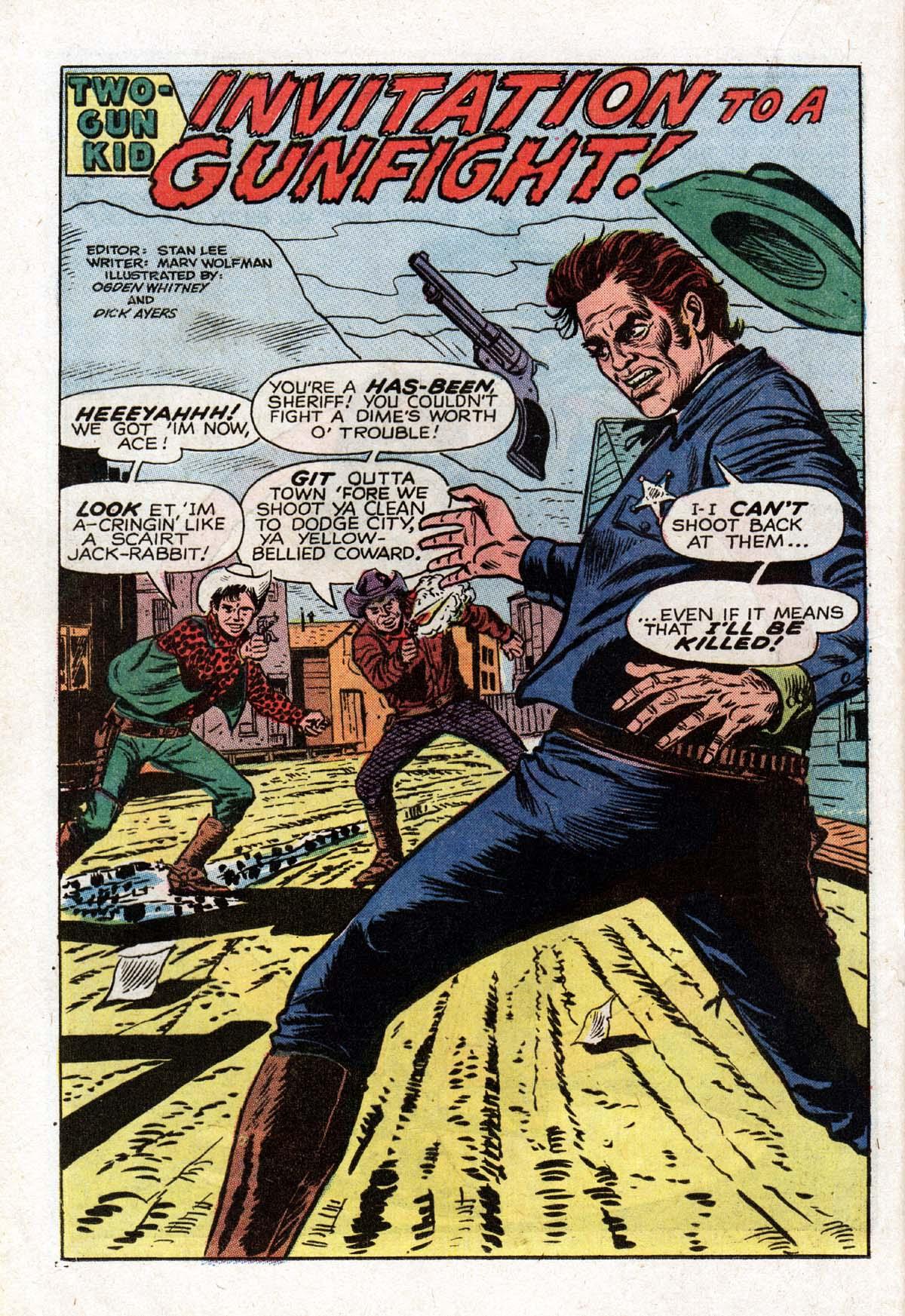 Read online Two-Gun Kid comic -  Issue #104 - 20