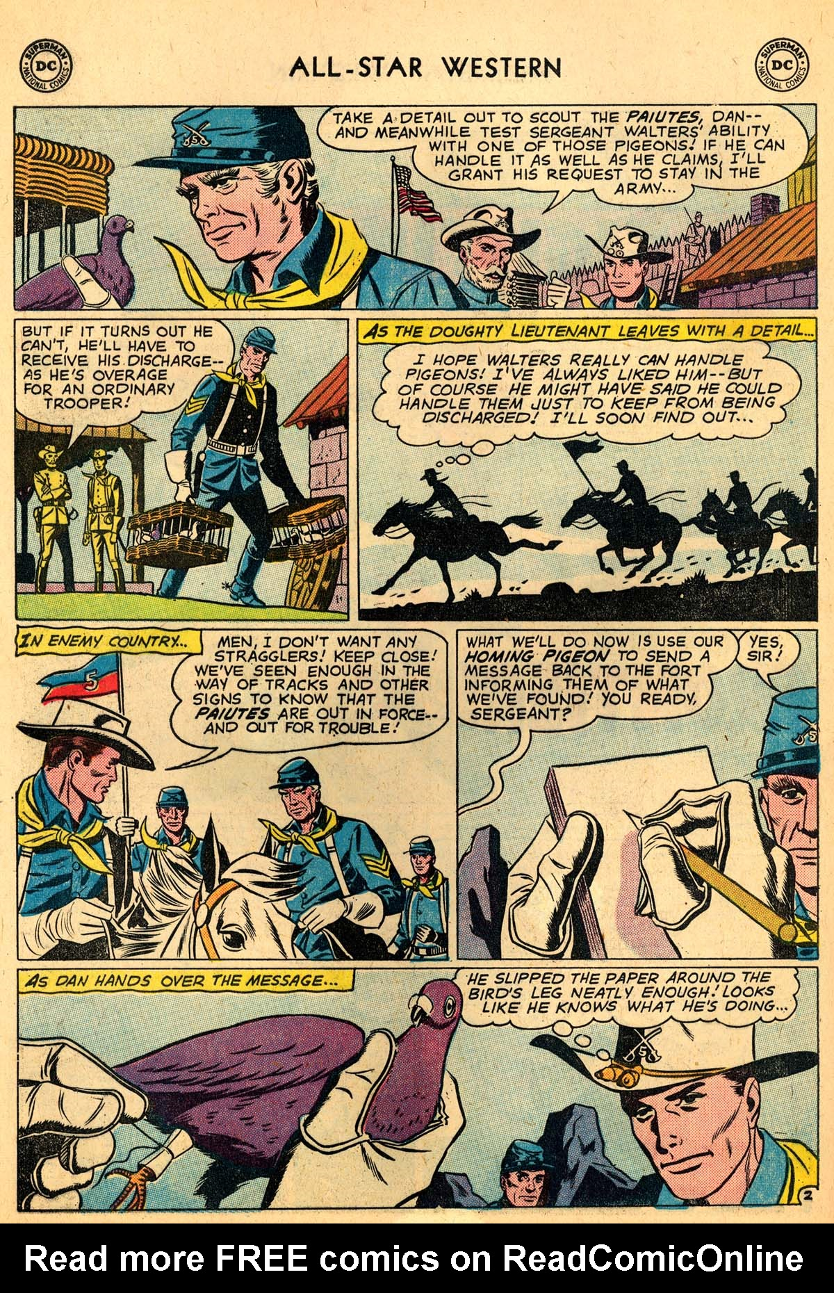 Read online All-Star Western (1951) comic -  Issue #110 - 16