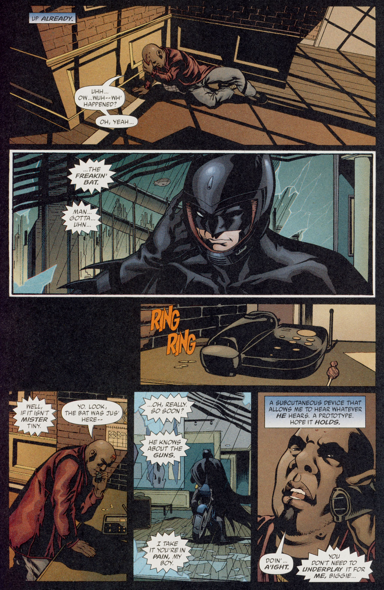 Read online Batman War Drums comic -  Issue # TPB - 59