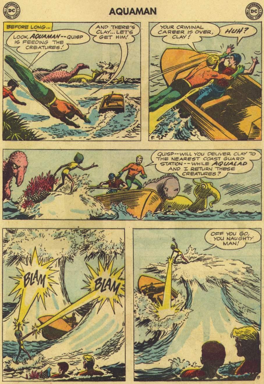Read online Aquaman (1962) comic -  Issue #7 - 25
