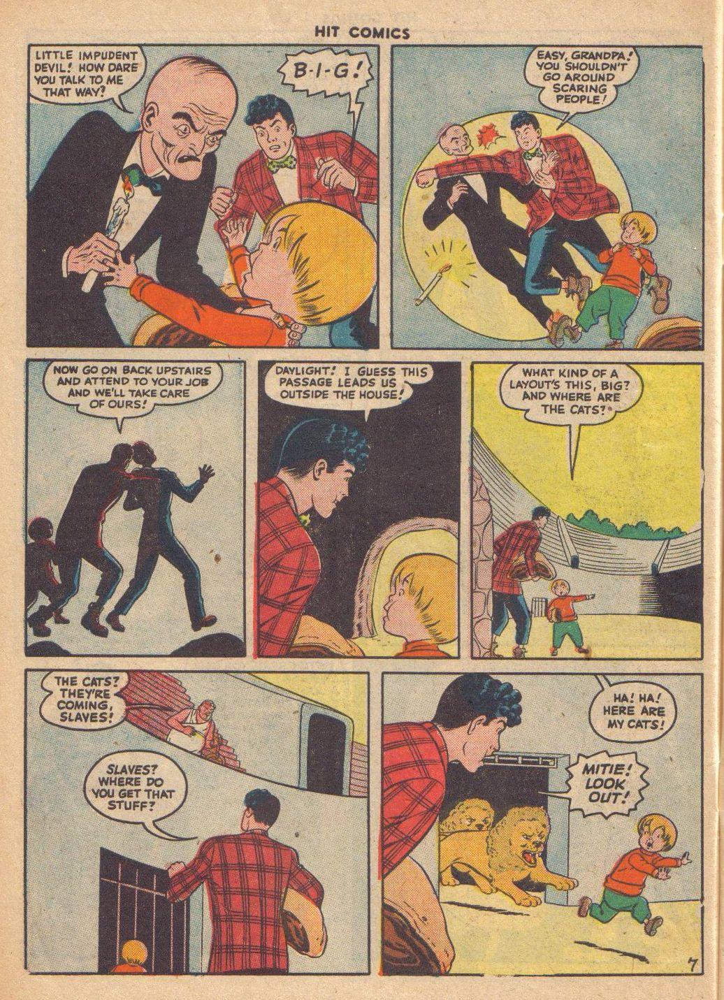 Read online Hit Comics comic -  Issue #46 - 56