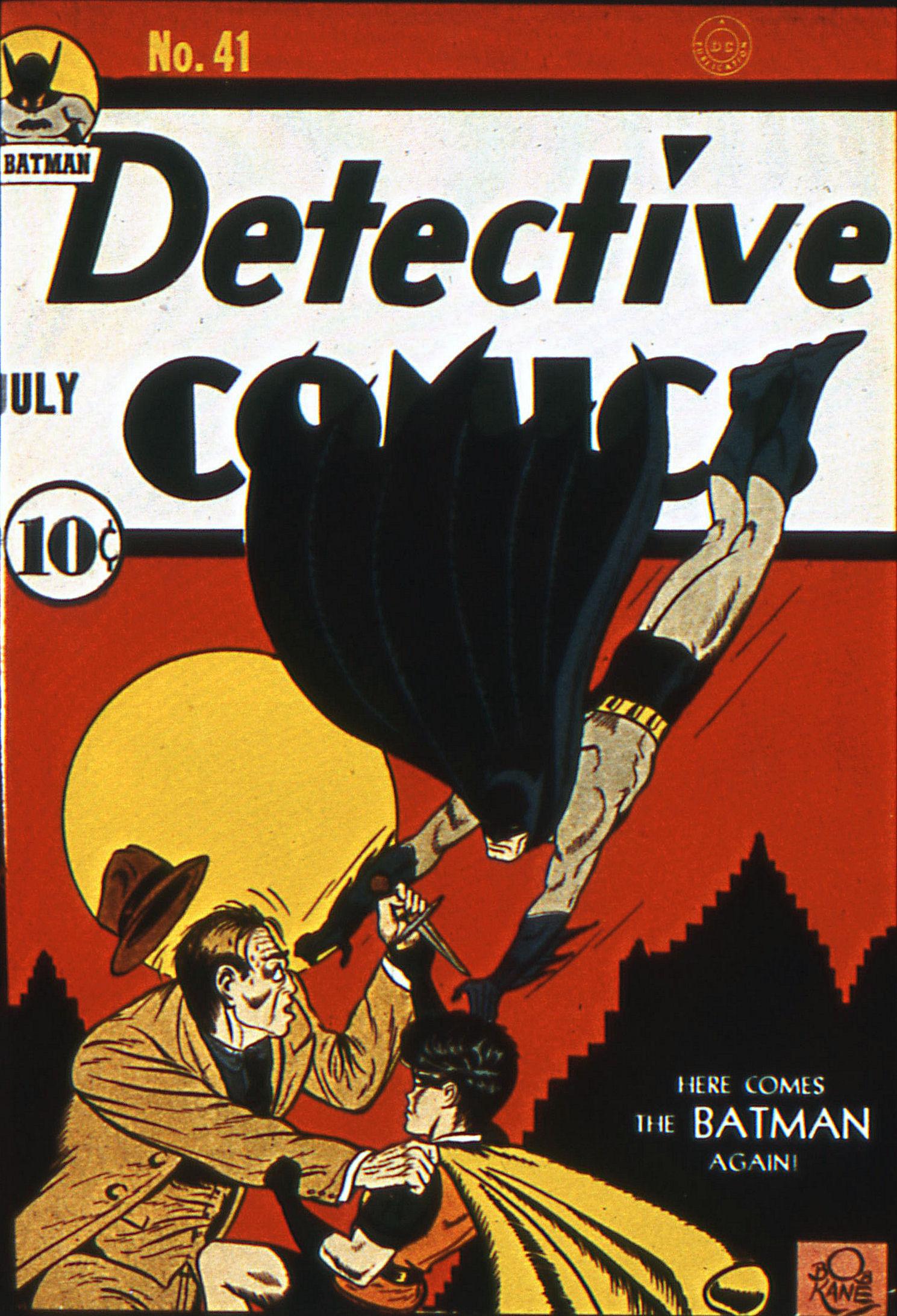 Detective Comics (1937) 41 Page 0