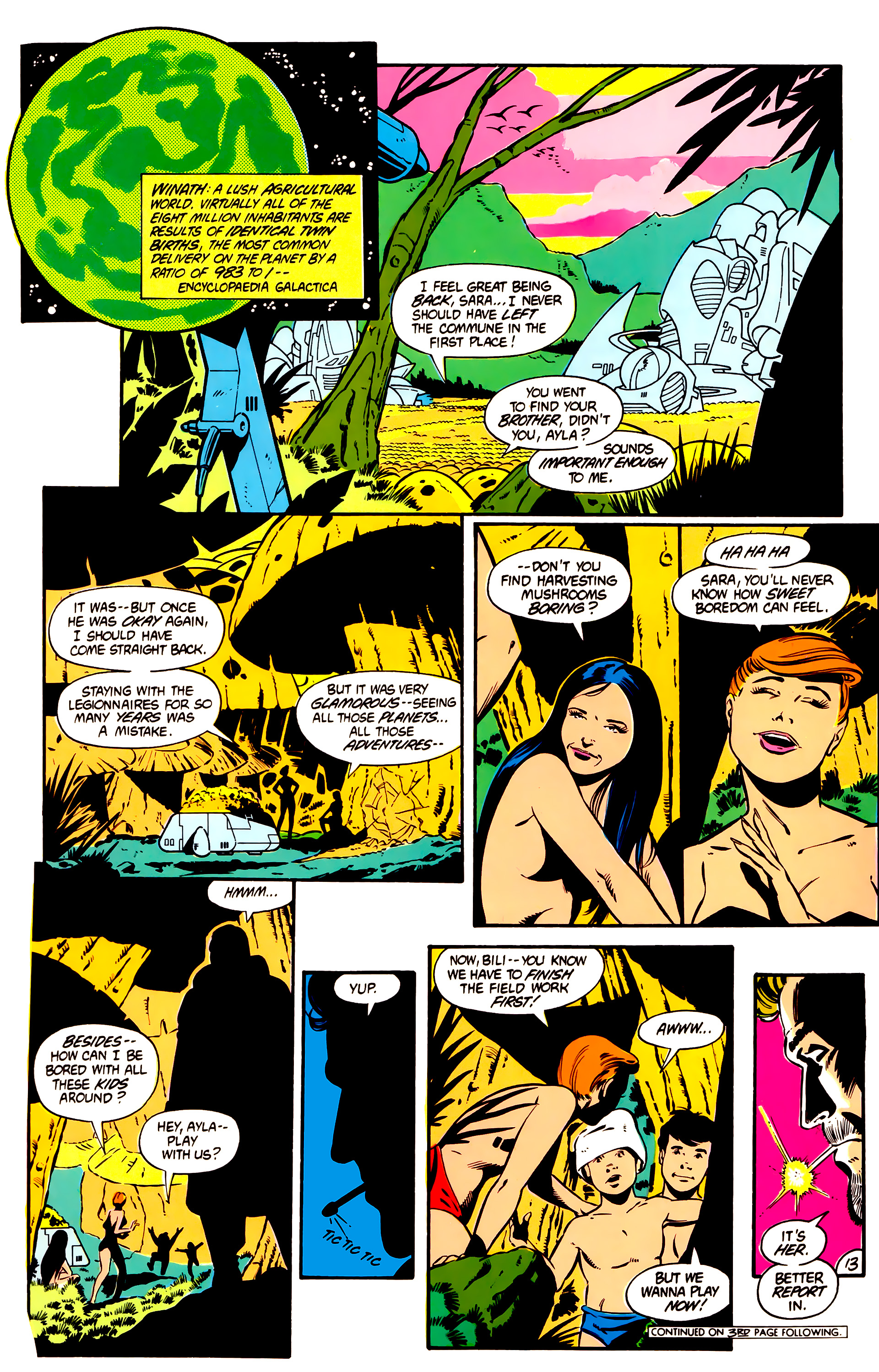 Legion of Super-Heroes (1984) 1 Page 14