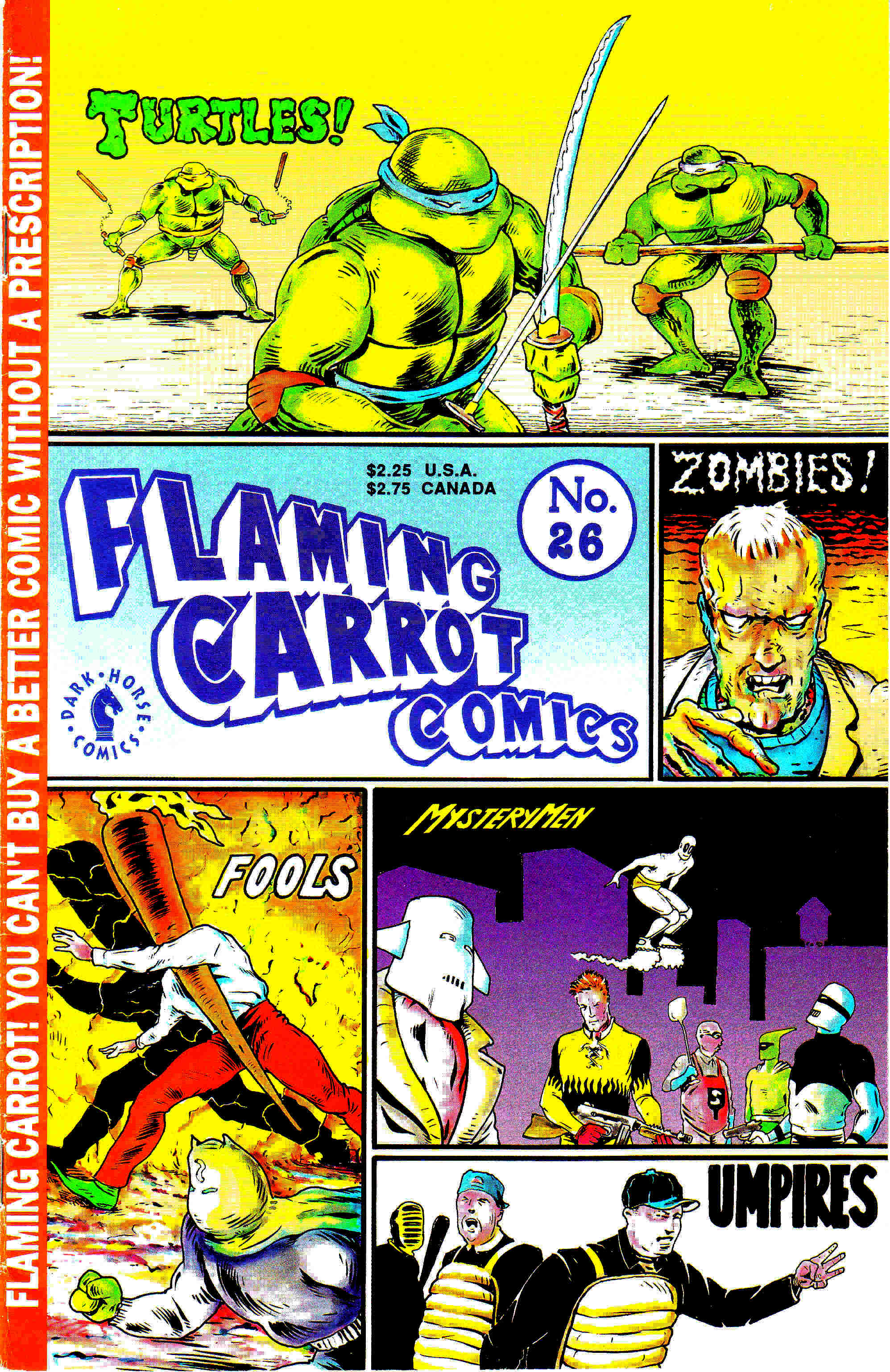 Read online Flaming Carrot Comics (1988) comic -  Issue #26 - 1