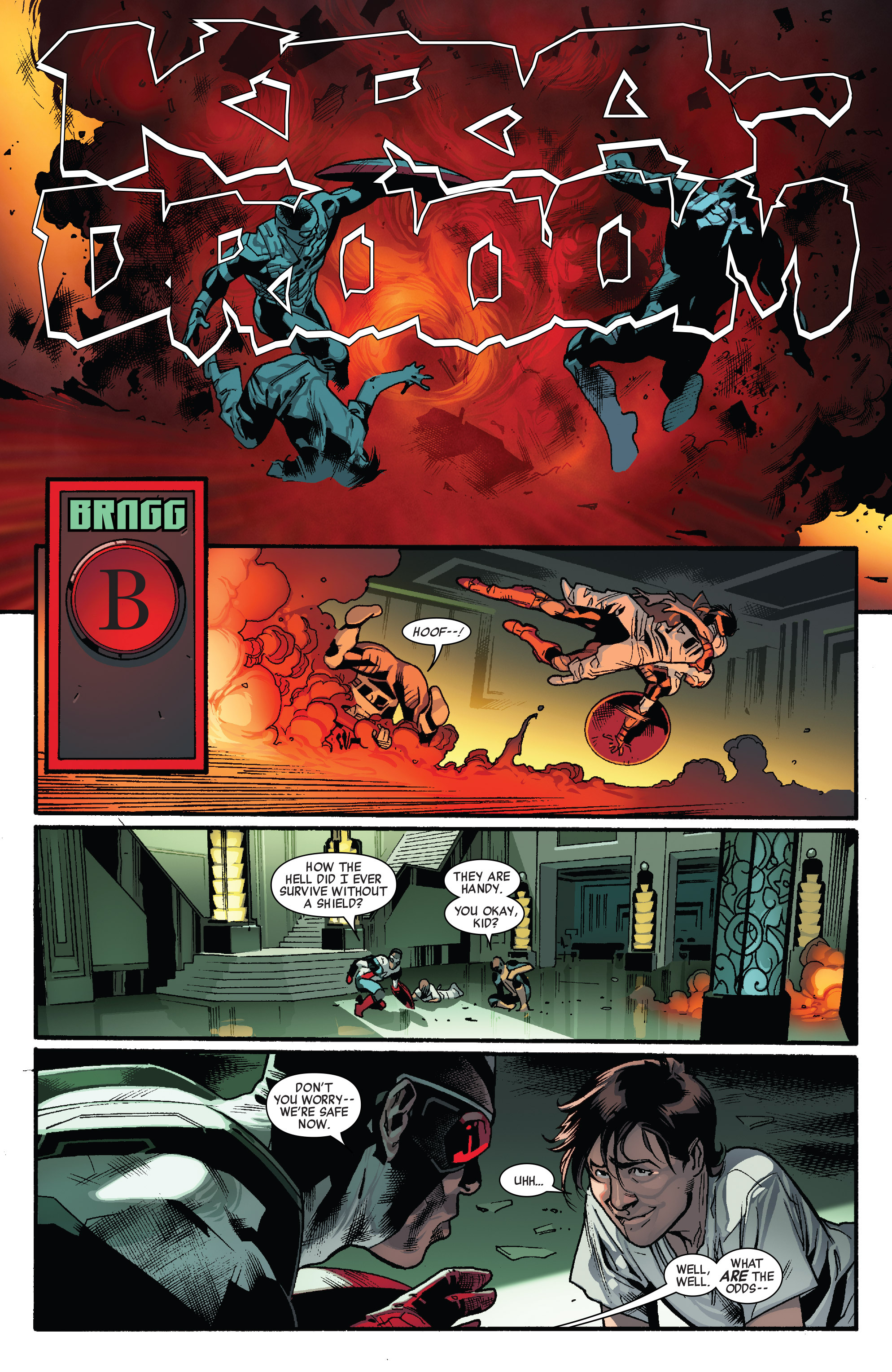 Read online All-New Captain America comic -  Issue #1 - 21