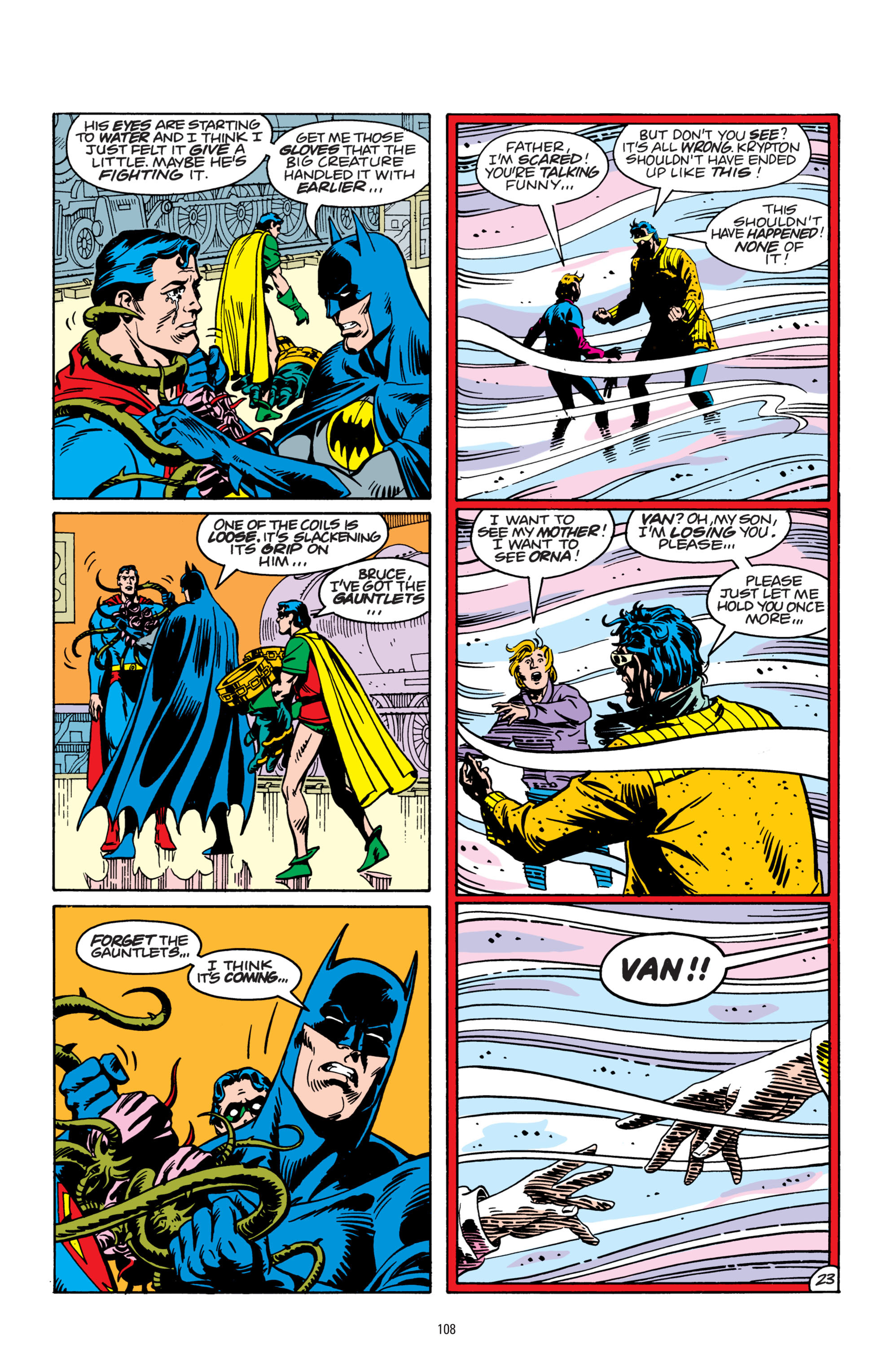 Read online Superman: Whatever Happened to the Man of Tomorrow? comic -  Issue # TPB - 107