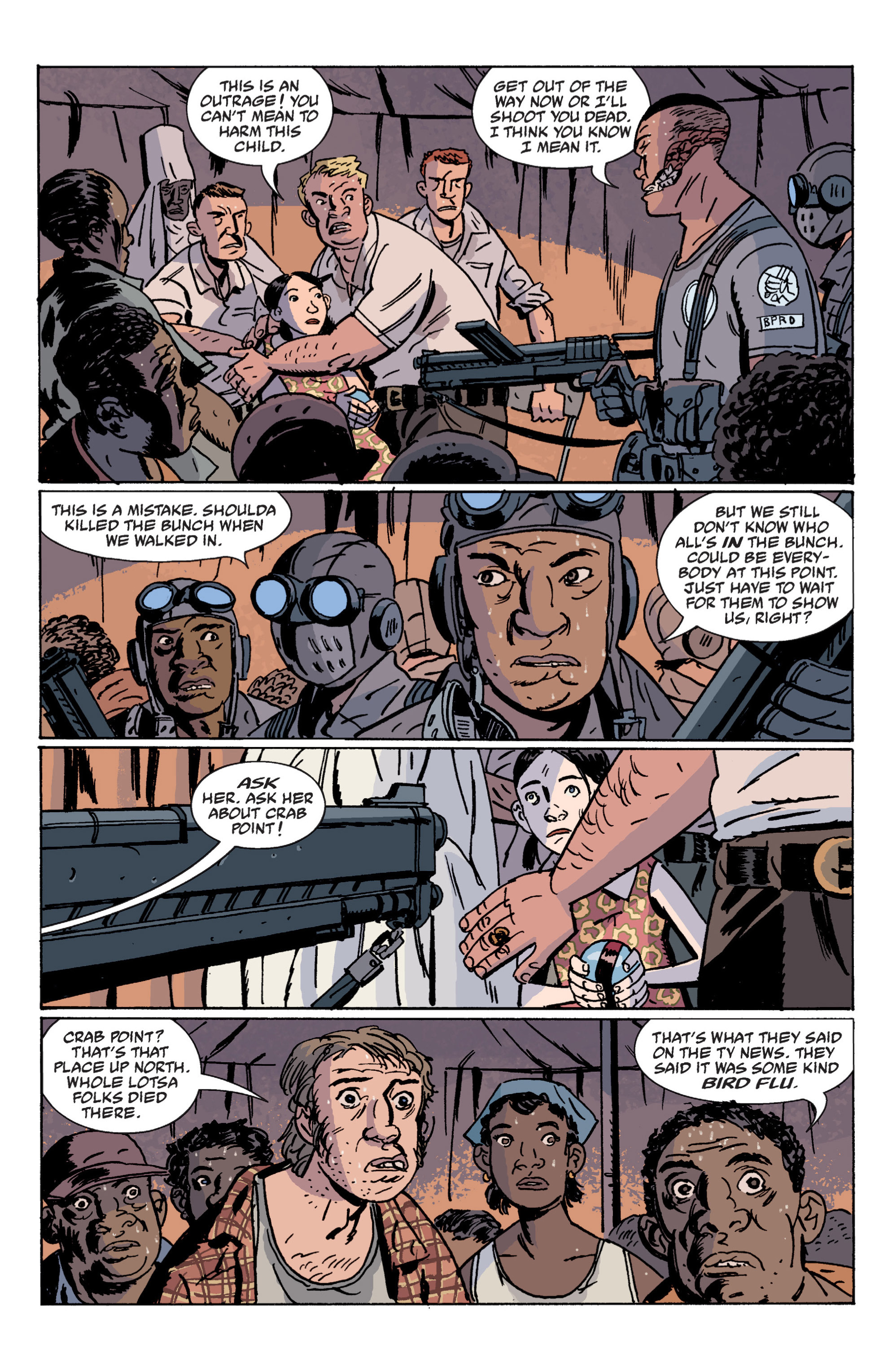 Read online B.P.R.D. (2003) comic -  Issue # TPB 12 - 47
