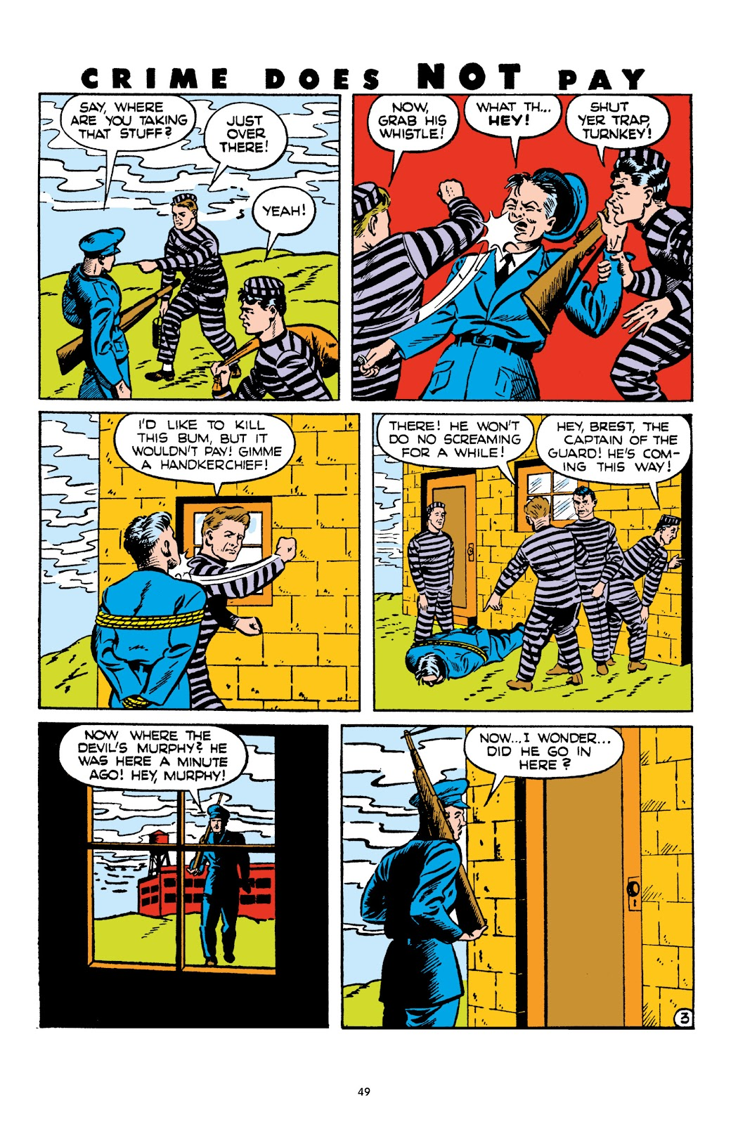 Read online Crime Does Not Pay Archives comic -  Issue # TPB 4 (Part 1) - 49