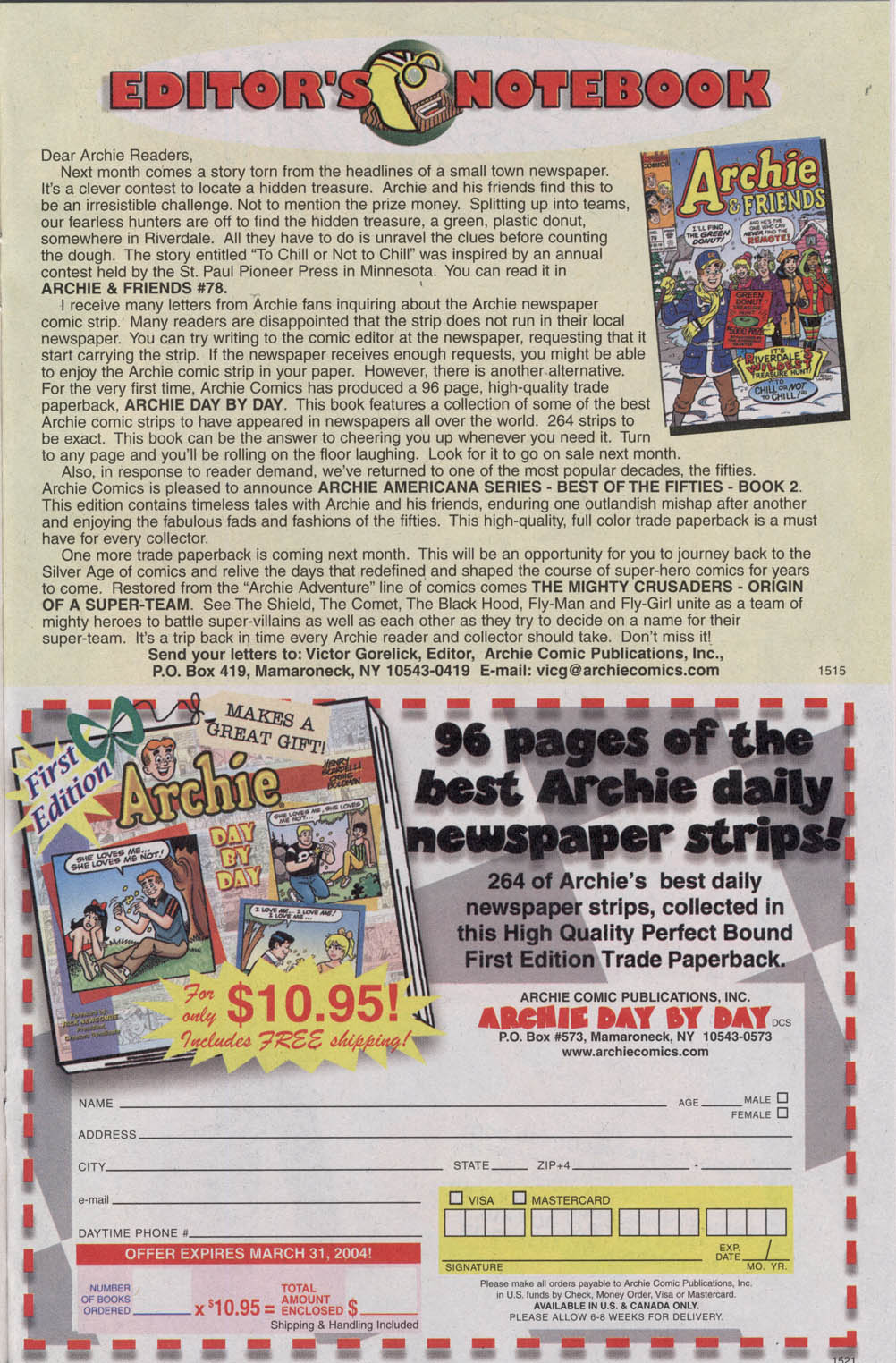 Read online Archie (1960) comic -  Issue #542 - 15
