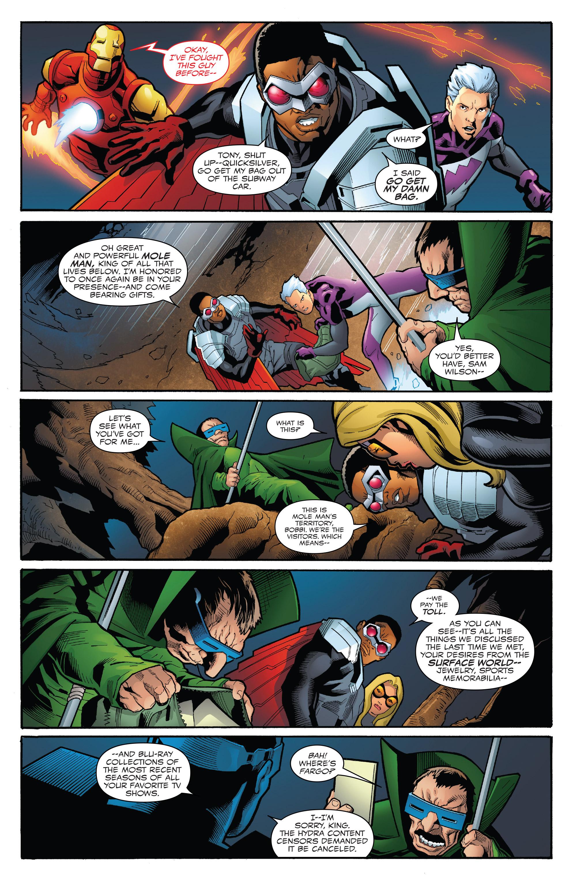 Read online Captain America: Sam Wilson comic -  Issue #23 - 14