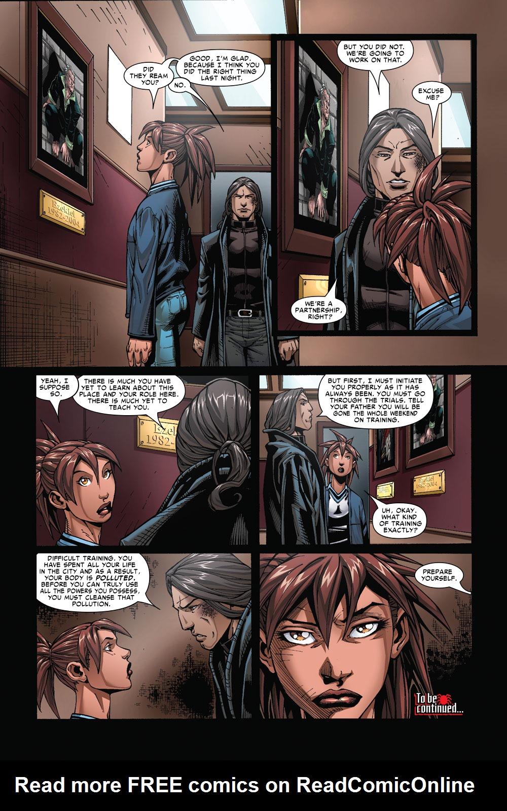Read online Amazing Fantasy (2004) comic -  Issue #4 - 23