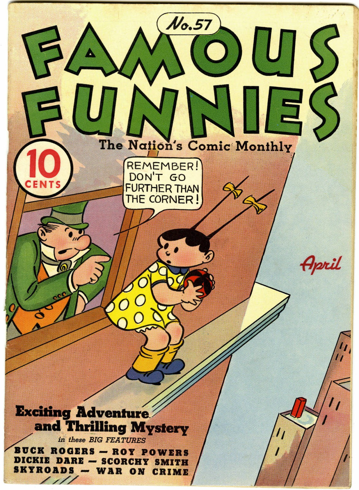 Read online Famous Funnies comic -  Issue #57 - 1