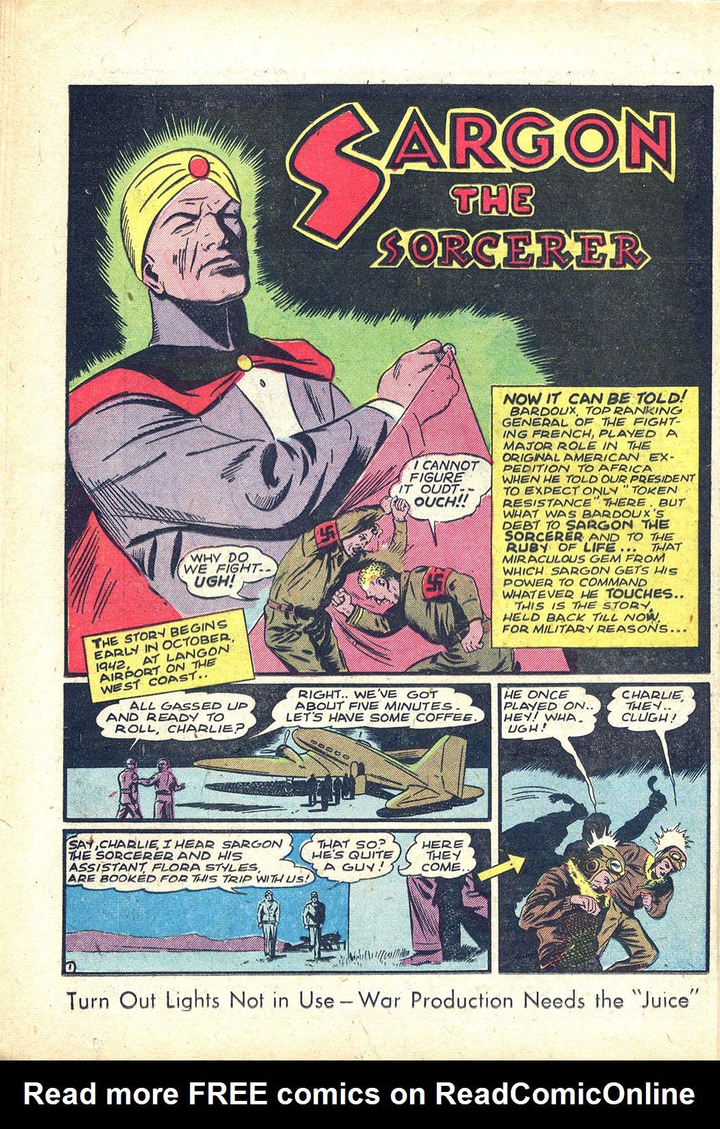 Read online Sensation (Mystery) Comics comic -  Issue #34 - 16