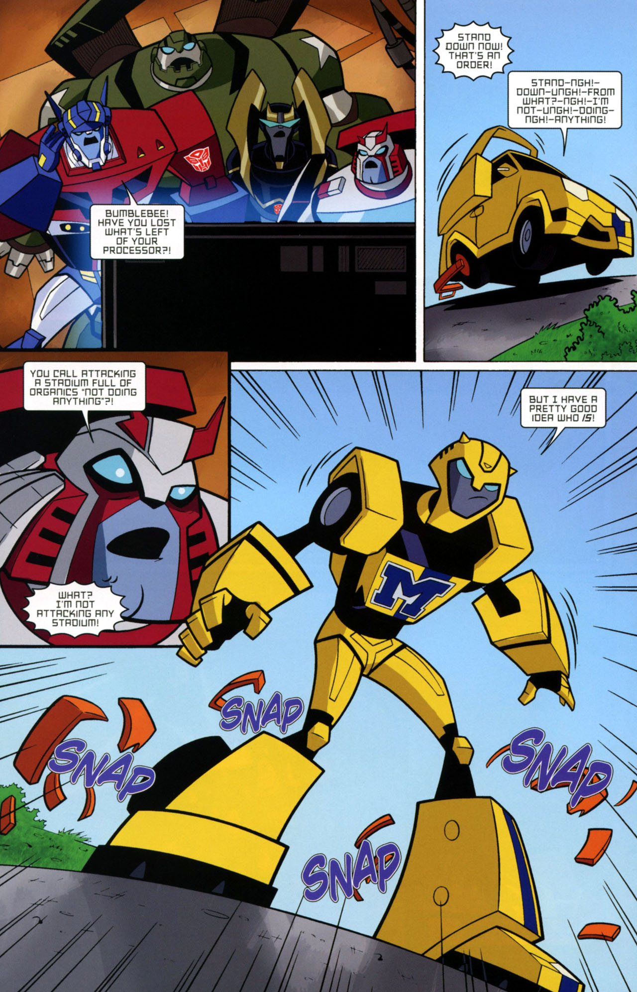 Read online Transformers Animated: The Arrival comic -  Issue #2 - 17