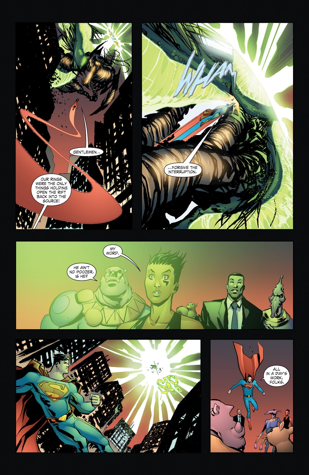 Read online Smallville Season 11 [II] comic -  Issue # TPB 7 - 126