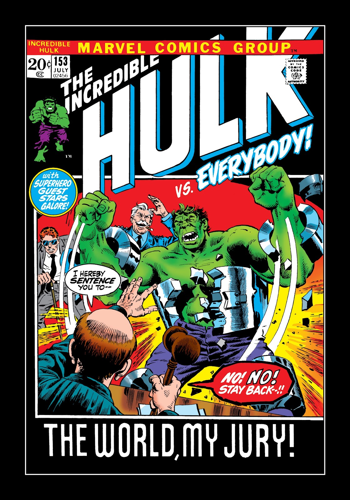 Read online Marvel Masterworks: The Incredible Hulk comic -  Issue # TPB 8 (Part 2) - 96