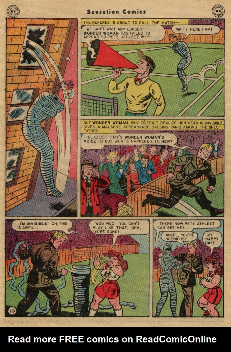 Read online Sensation (Mystery) Comics comic -  Issue #61 - 12