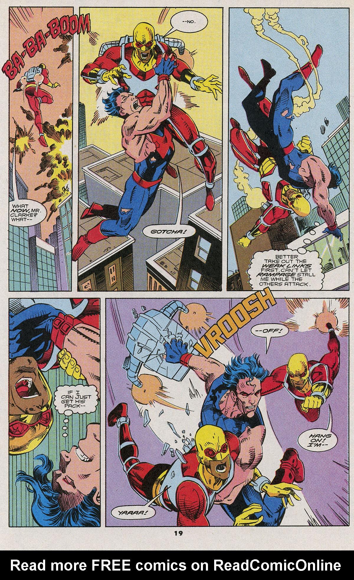 Read online Wonder Man (1991) comic -  Issue #6 - 16