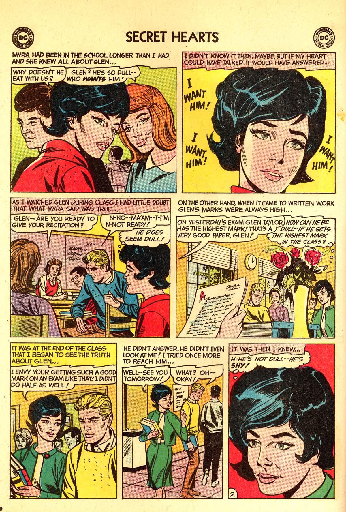 Read online Secret Hearts comic -  Issue #89 - 12