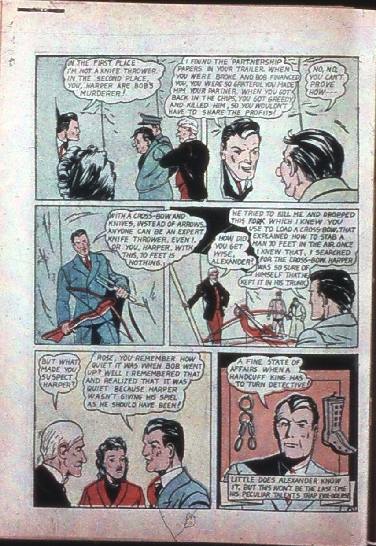 Read online Super-Magician Comics comic -  Issue #7 - 57