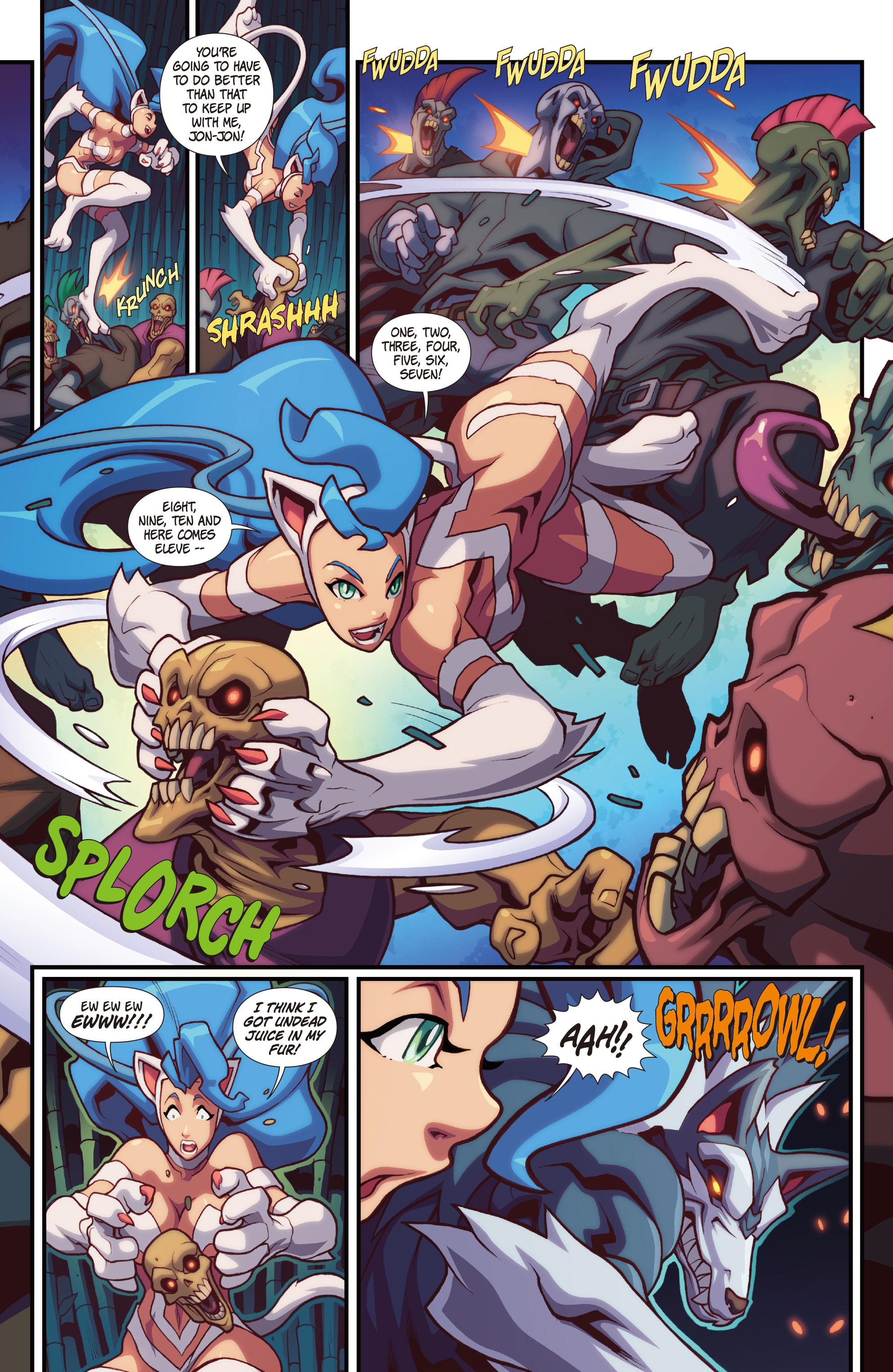 Read online Street Fighter VS Darkstalkers comic -  Issue #2 - 13