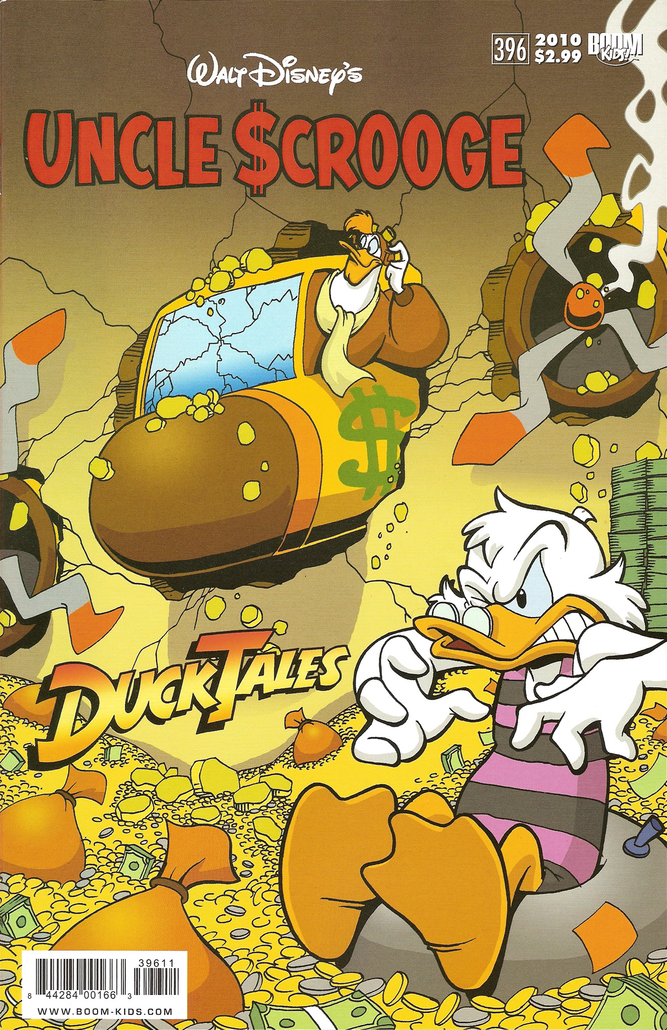 Read online Uncle Scrooge (1953) comic -  Issue #396 - 1
