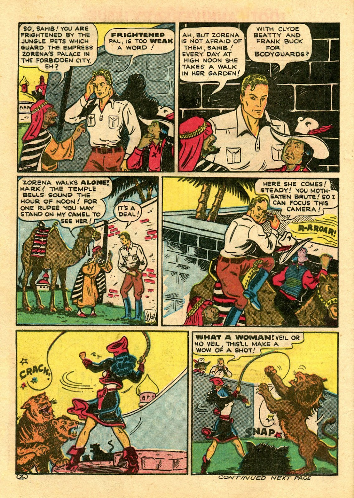 Read online Famous Funnies comic -  Issue #100 - 64