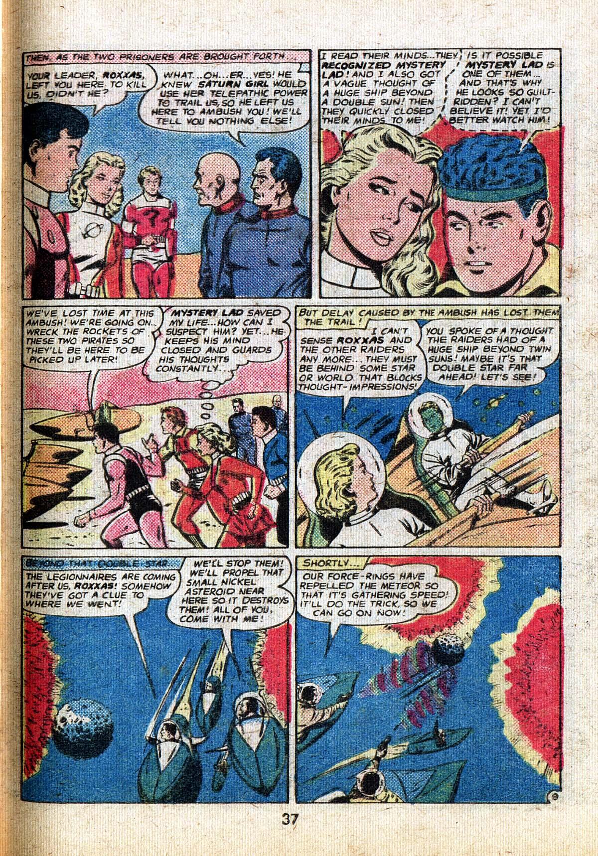 Read online Adventure Comics (1938) comic -  Issue #500 - 37