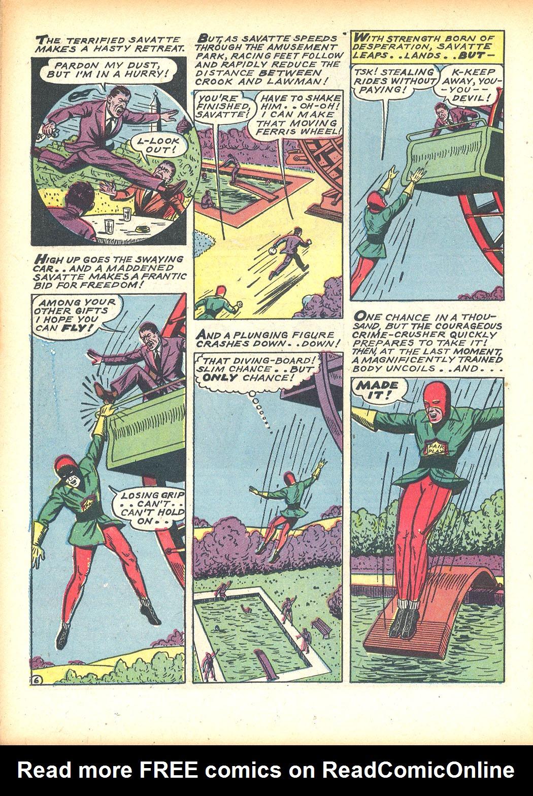 Read online Sensation (Mystery) Comics comic -  Issue #13 - 40