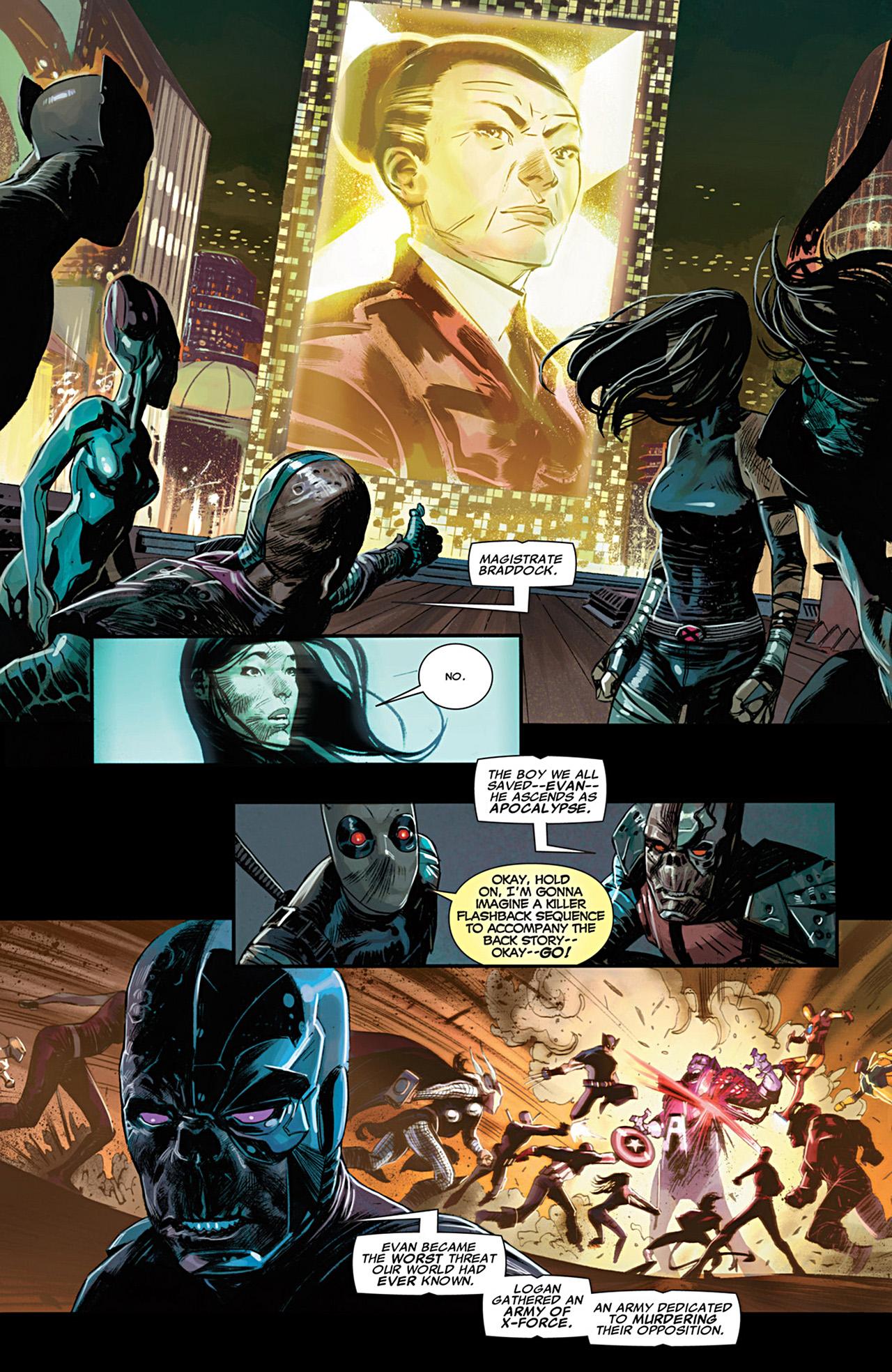 Uncanny X-Force (2010) #28 #30 - English 14