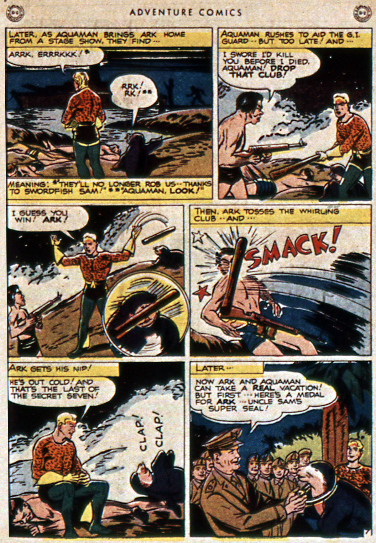 Read online Adventure Comics (1938) comic -  Issue #111 - 49