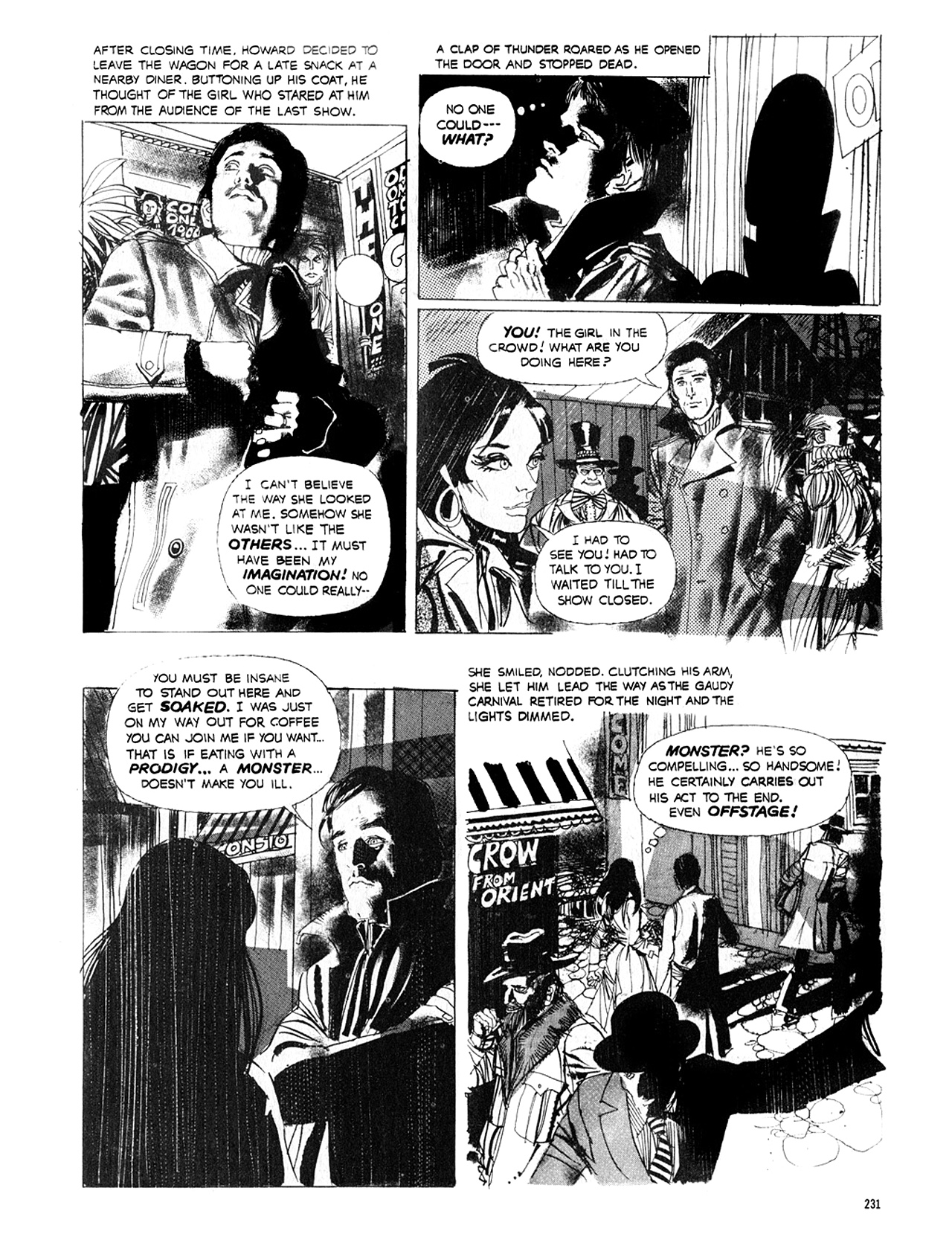 Read online Eerie Archives comic -  Issue # TPB 8 - 232